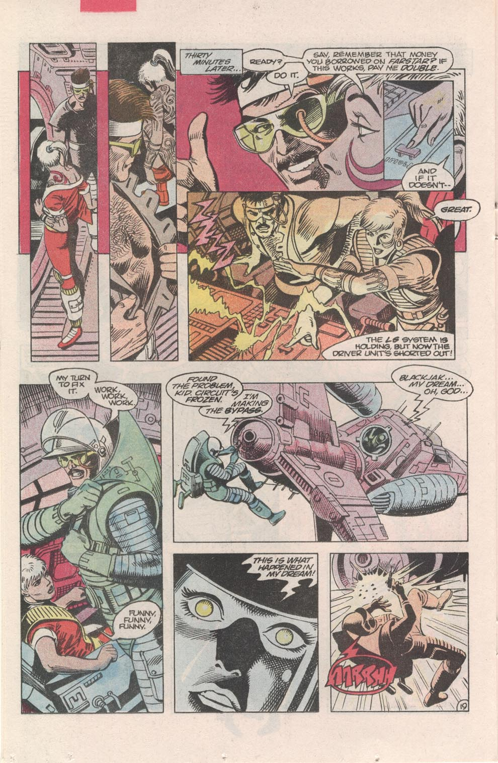 Read online Atari Force (1984) comic -  Issue #3 - 20