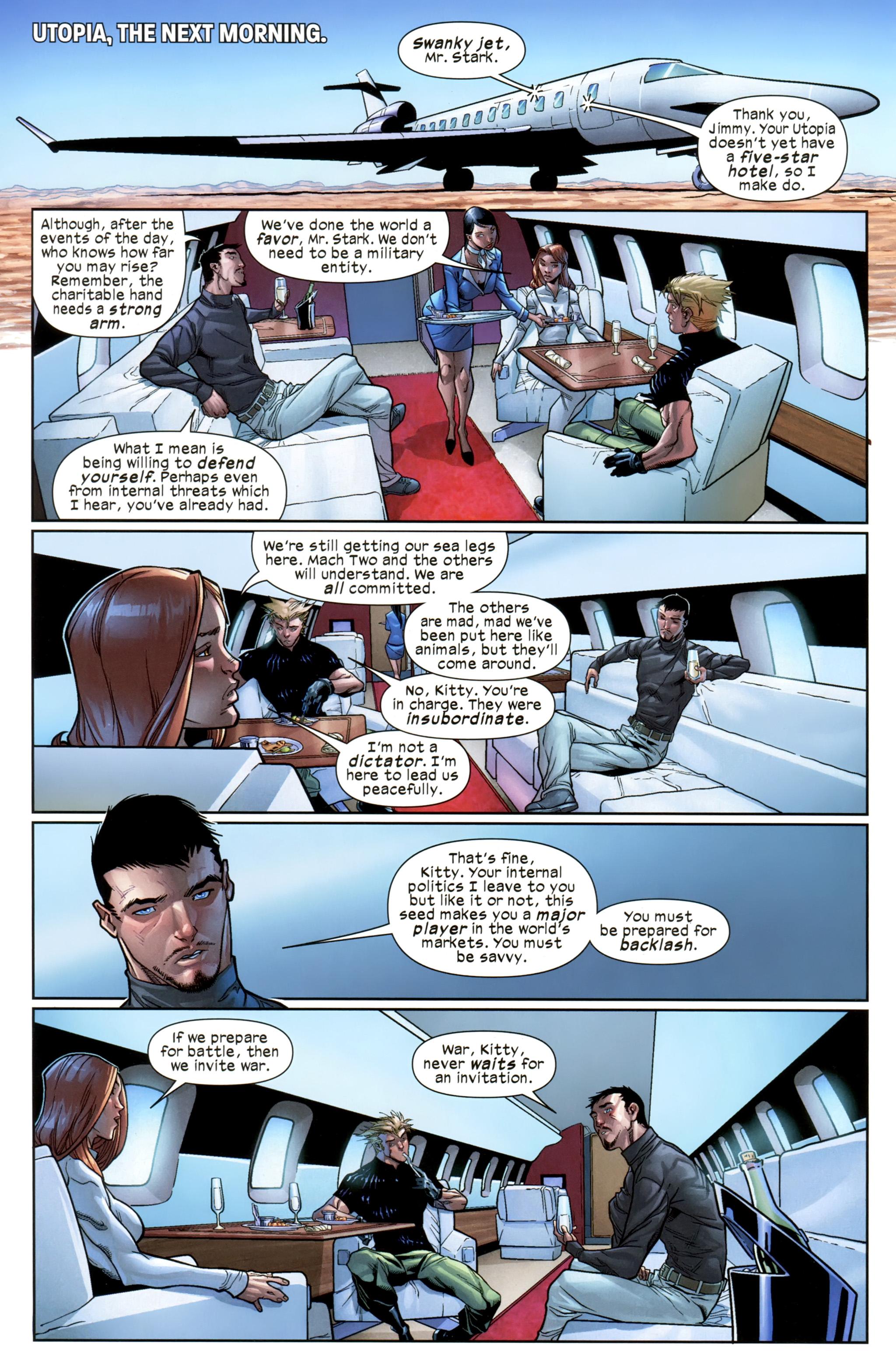 Read online Ultimate Comics X-Men comic -  Issue #21 - 9