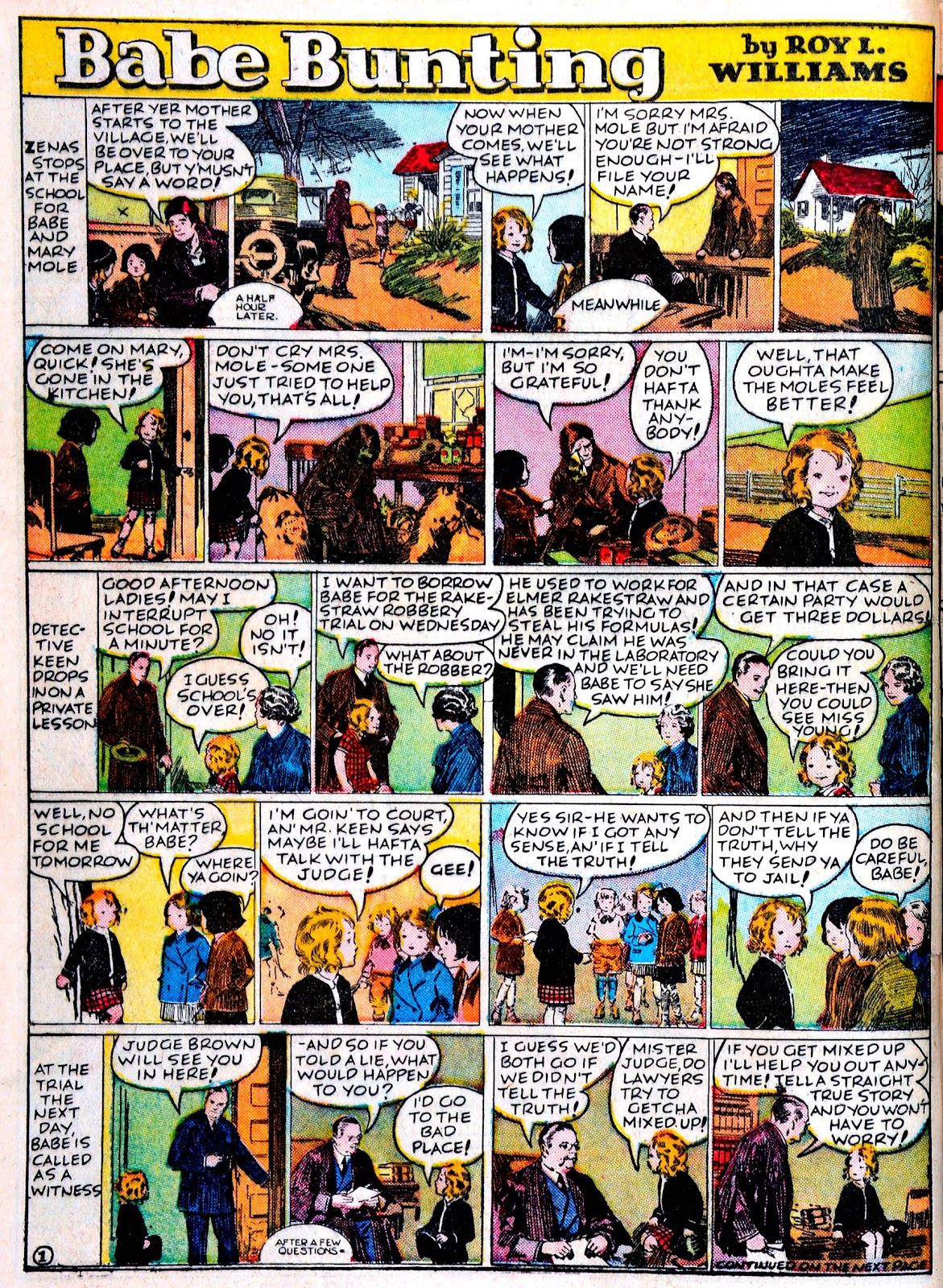 Read online Famous Funnies comic -  Issue #43 - 54