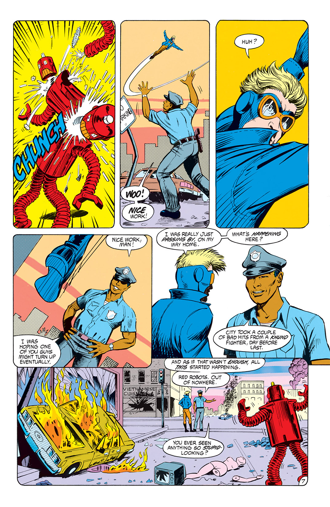 Read online Animal Man (1988) comic -  Issue #7 - 9