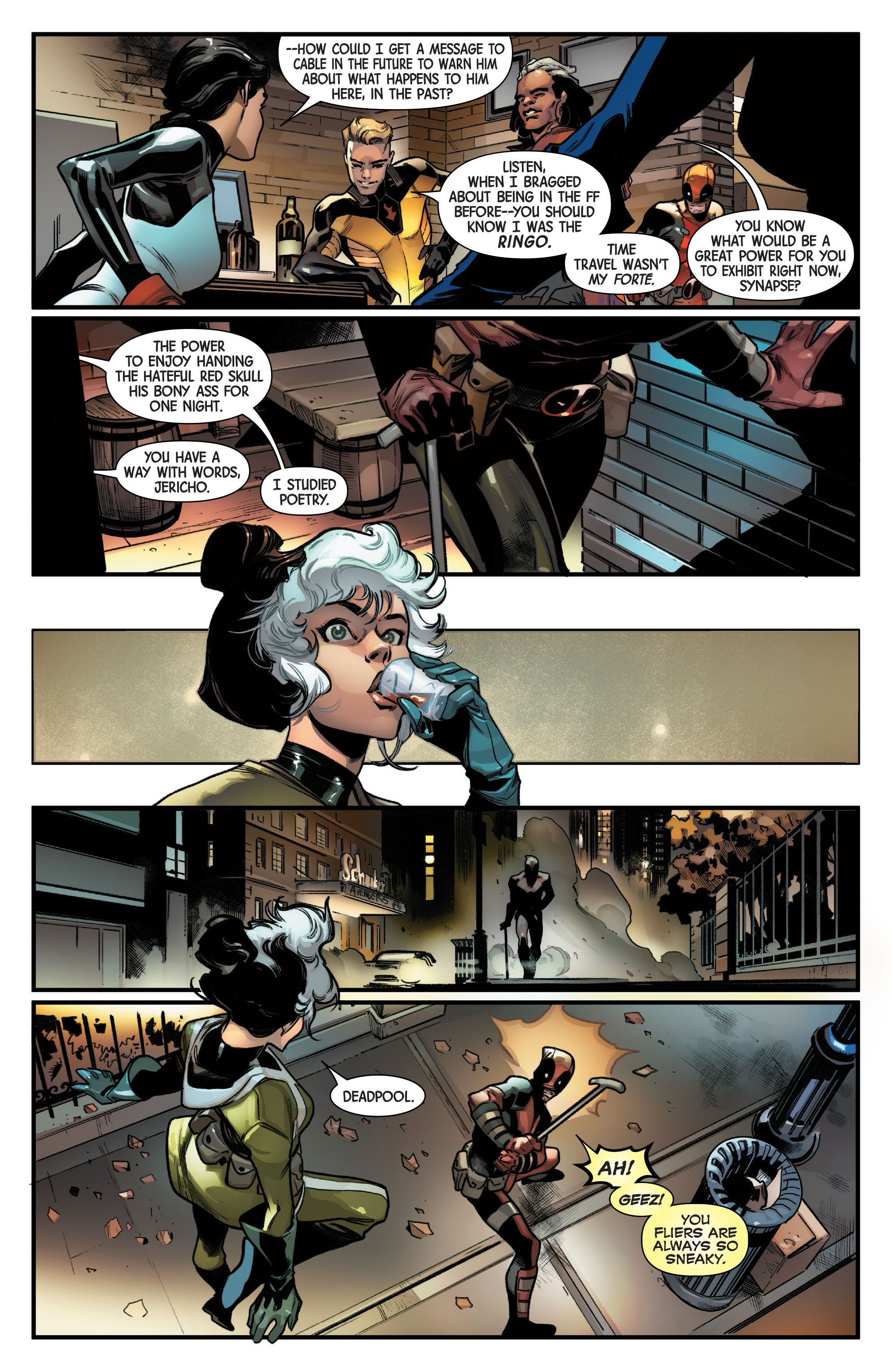 Read online Uncanny Avengers [II] comic -  Issue #22 - 16