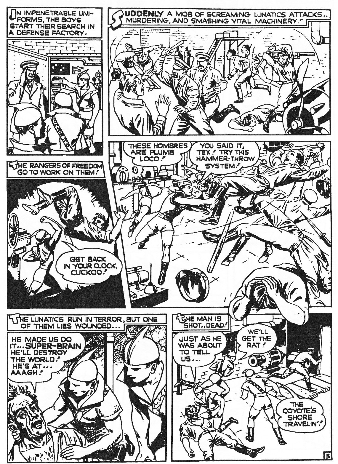 Read online Men of Mystery Comics comic -  Issue #81 - 229