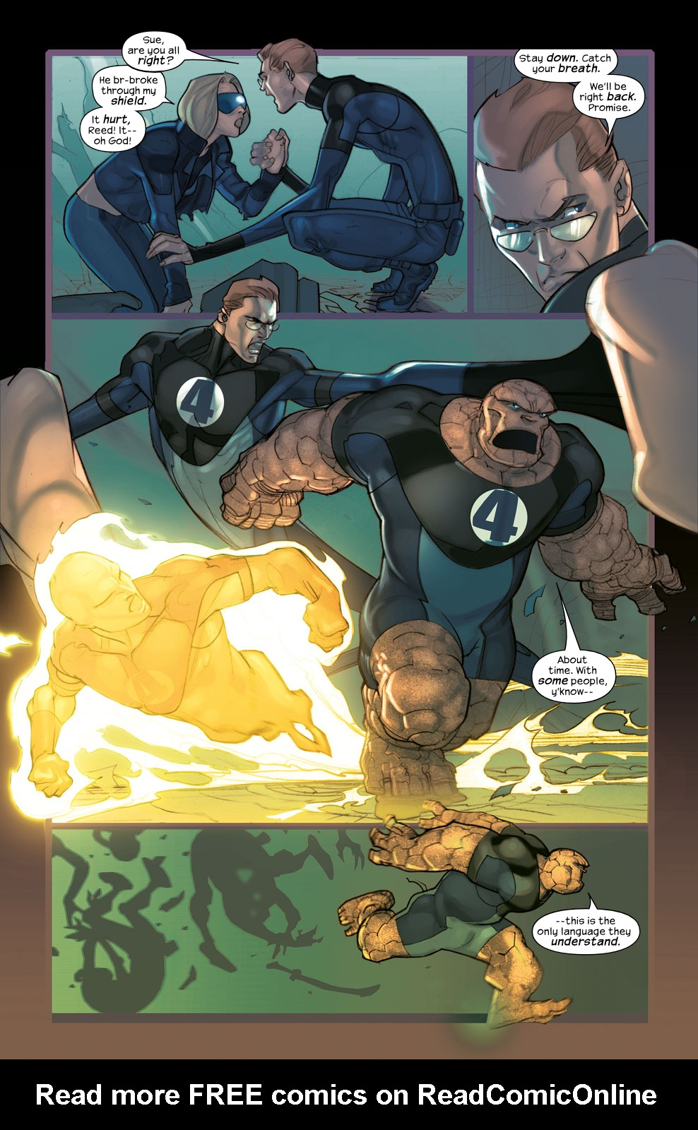 Read online Ultimate Fantastic Four (2004) comic -  Issue #35 - 11