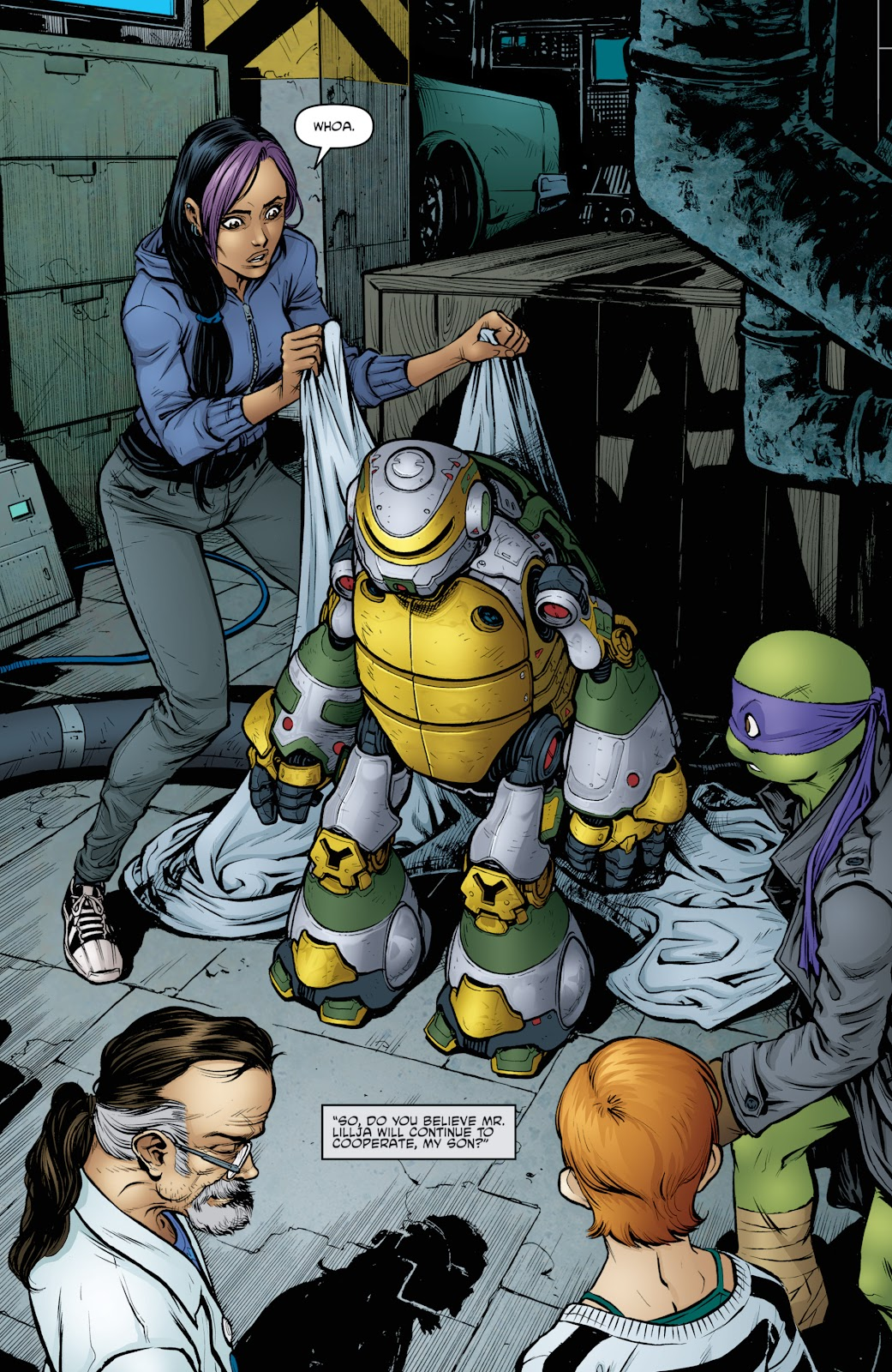Read online Teenage Mutant Ninja Turtles: The IDW Collection comic -  Issue # TPB 4 (Part 3) - 41