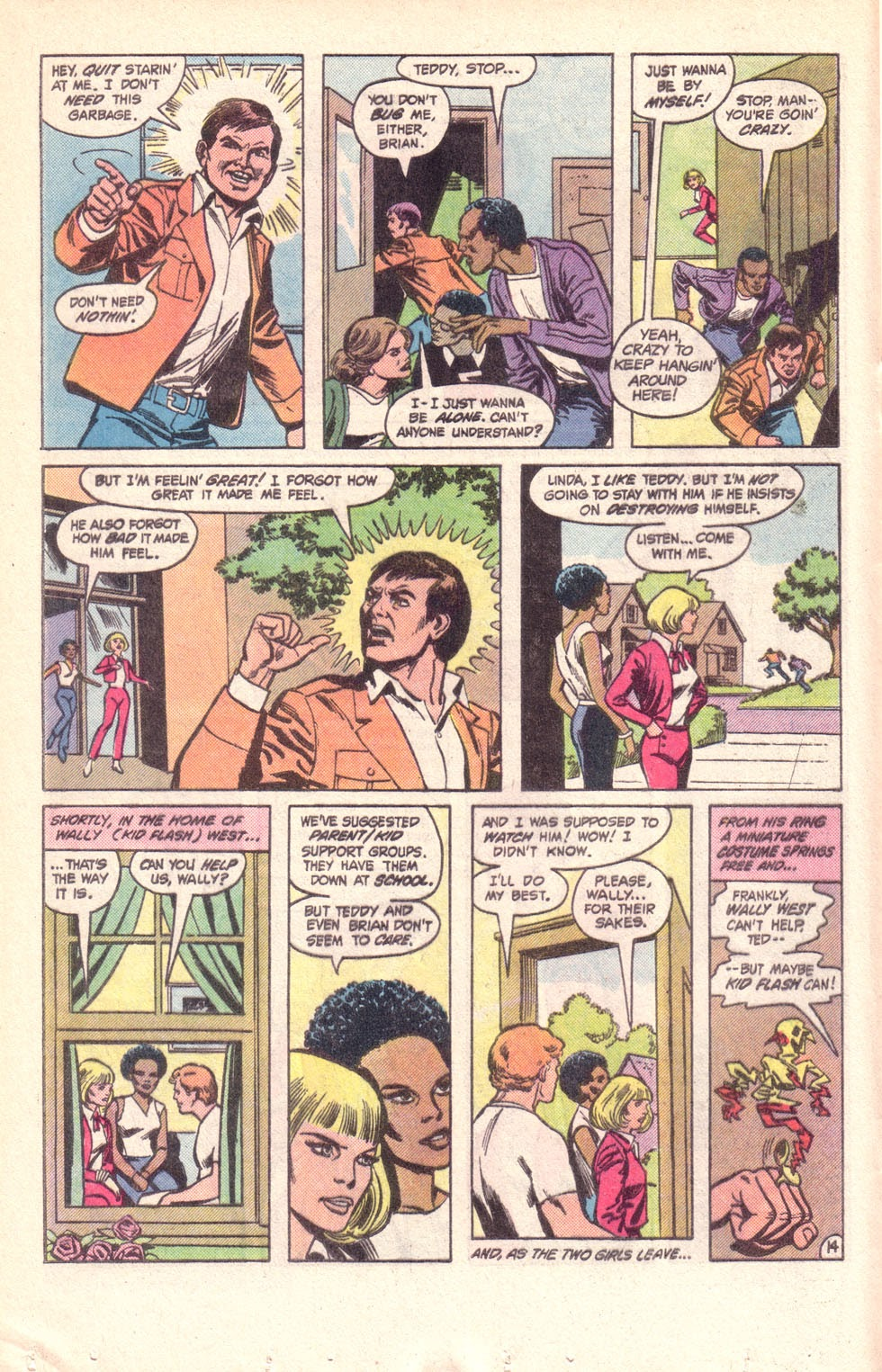 Read online The New Teen Titans (Drug Awareness Specials) comic -  Issue #1 - 16