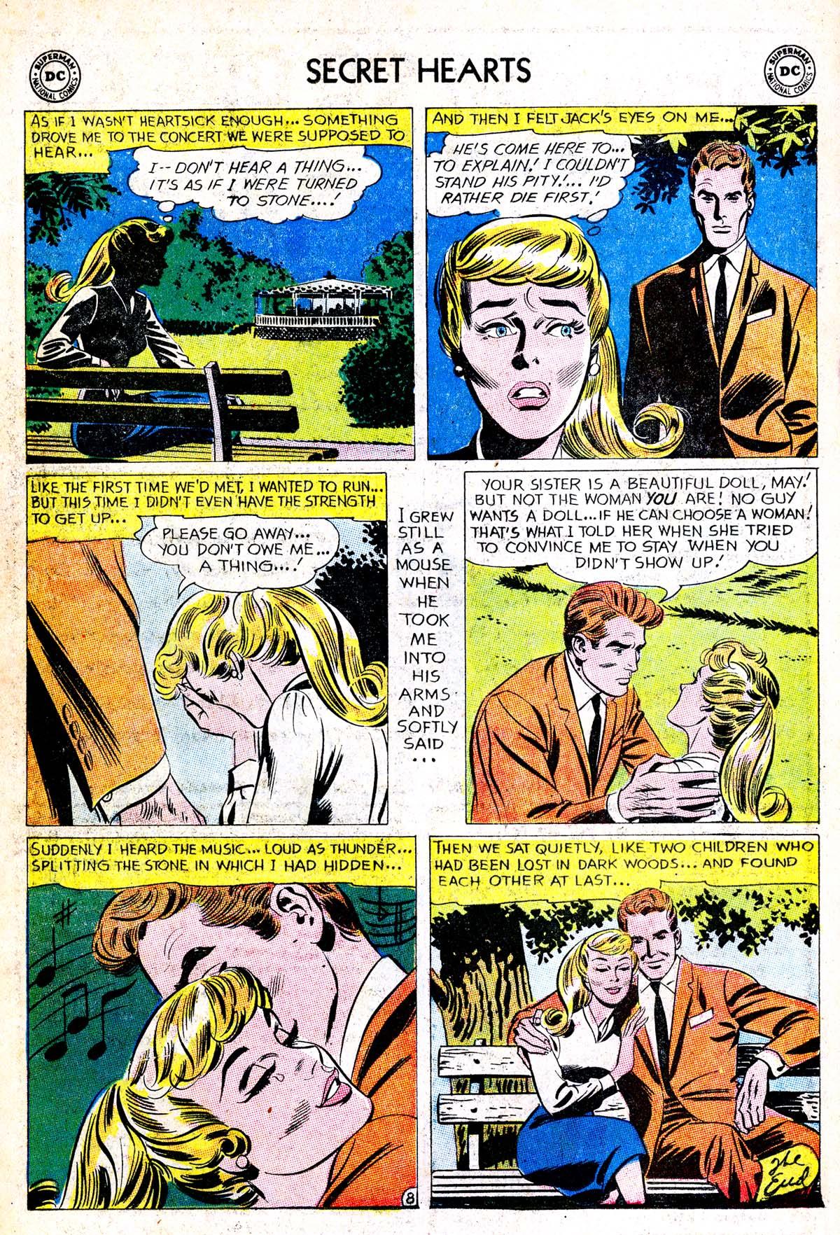 Read online Secret Hearts comic -  Issue #85 - 34