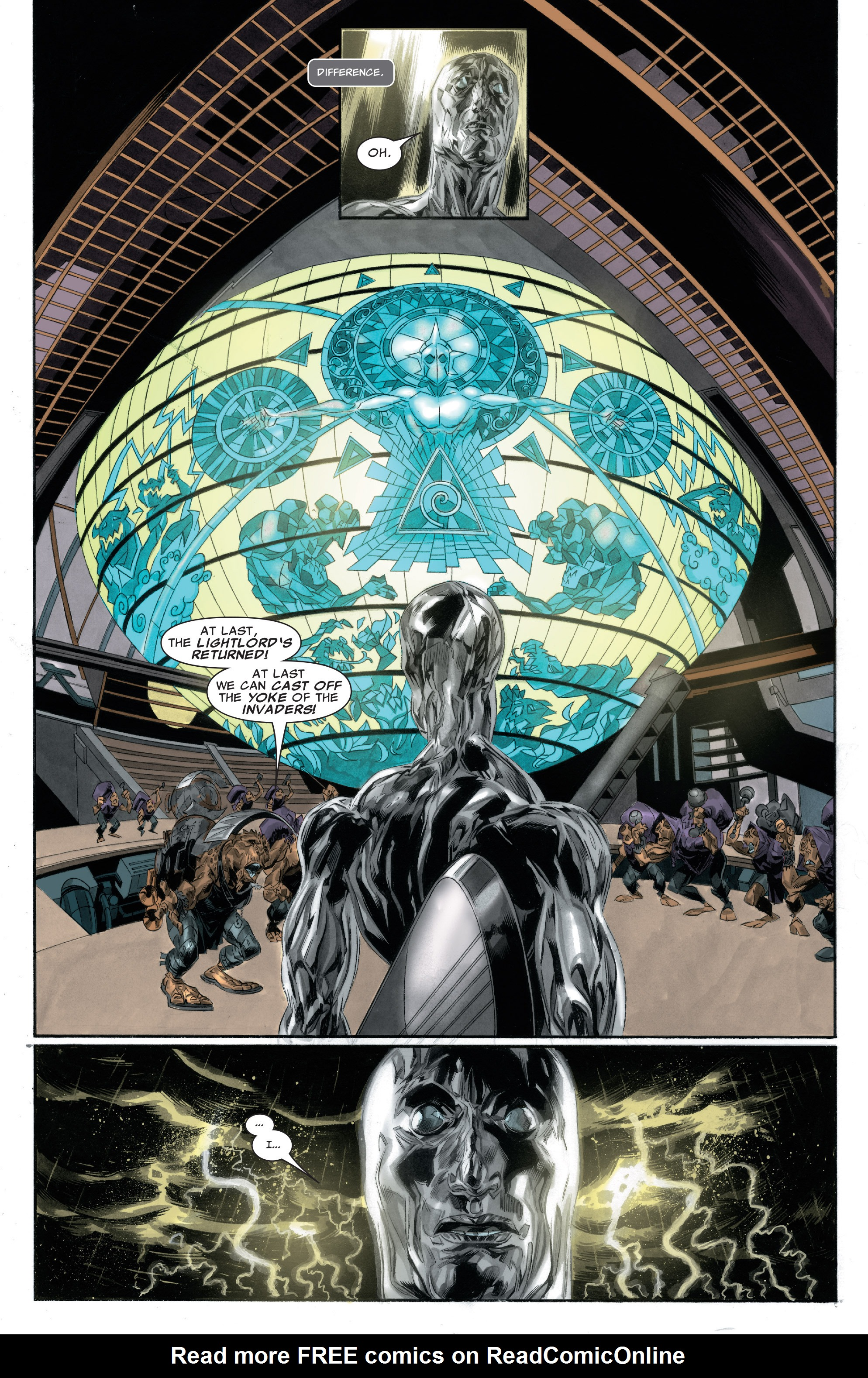 Read online Silver Surfer: In Thy Name comic -  Issue #2 - 15