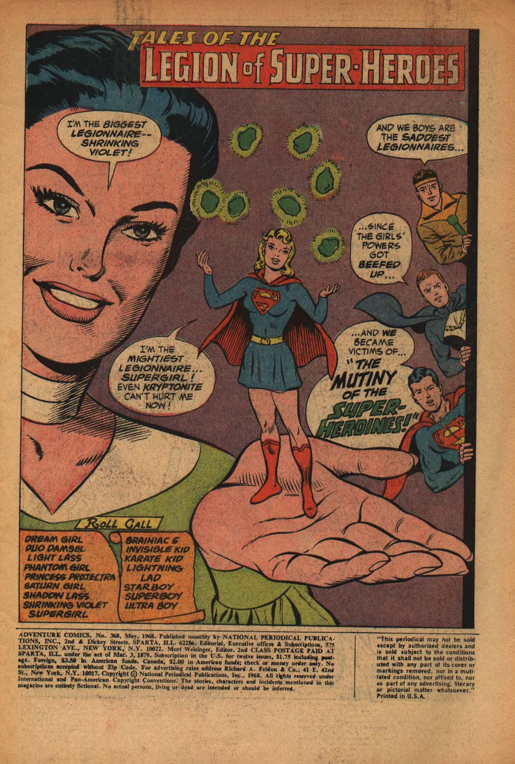 Read online Adventure Comics (1938) comic -  Issue #368 - 3