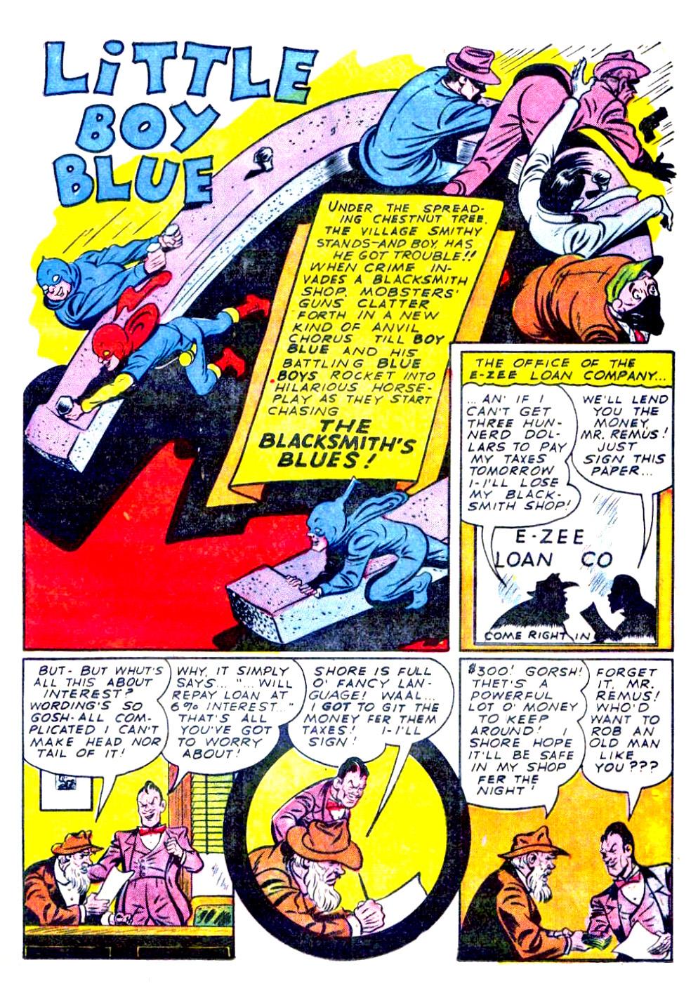 Read online Sensation (Mystery) Comics comic -  Issue #29 - 25