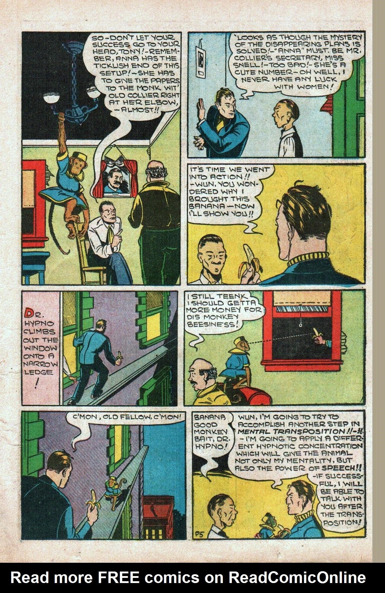 Read online Amazing Man Comics comic -  Issue #20 - 20