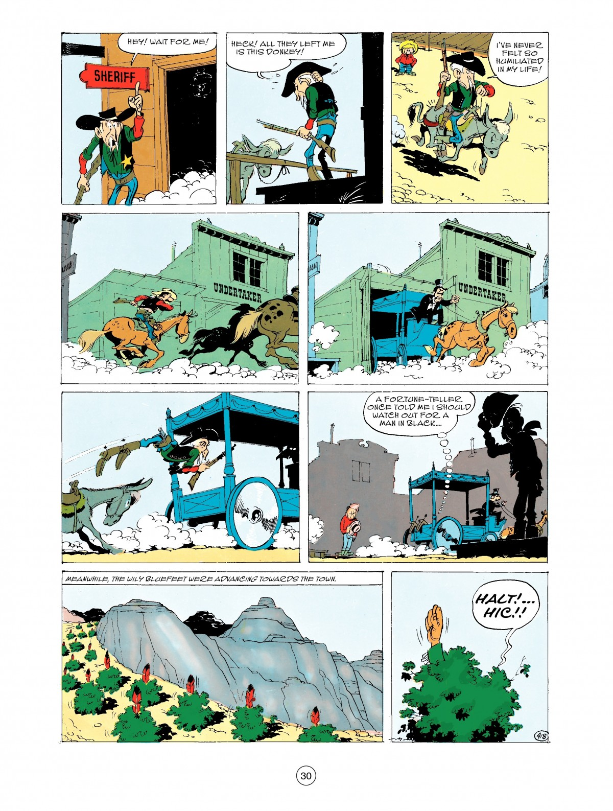 Read online A Lucky Luke Adventure comic -  Issue #43 - 30