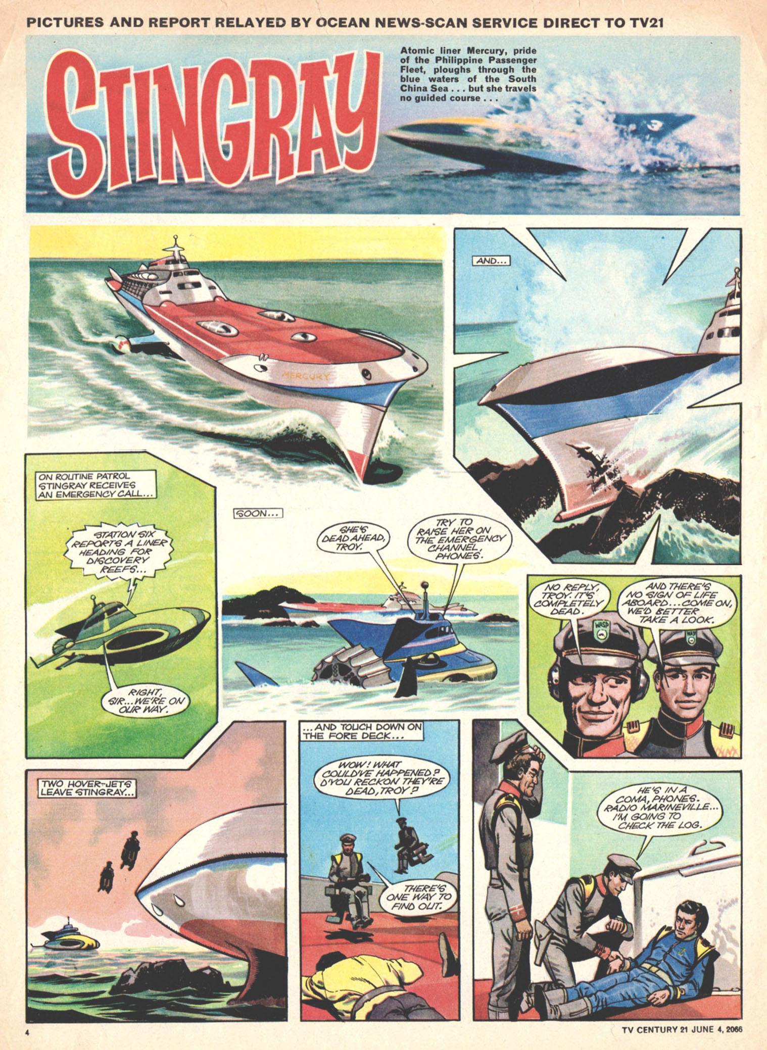 Read online TV Century 21 (TV 21) comic -  Issue #72 - 4