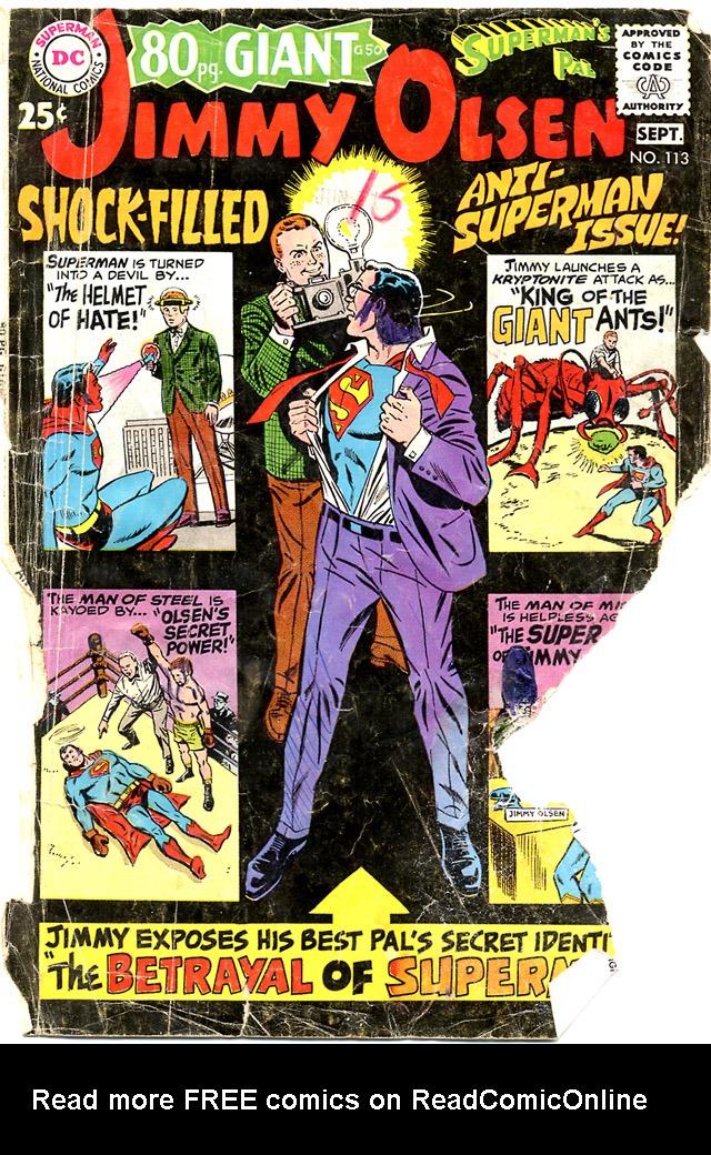 Supermans Pal Jimmy Olsen (1954) 113 Page 1