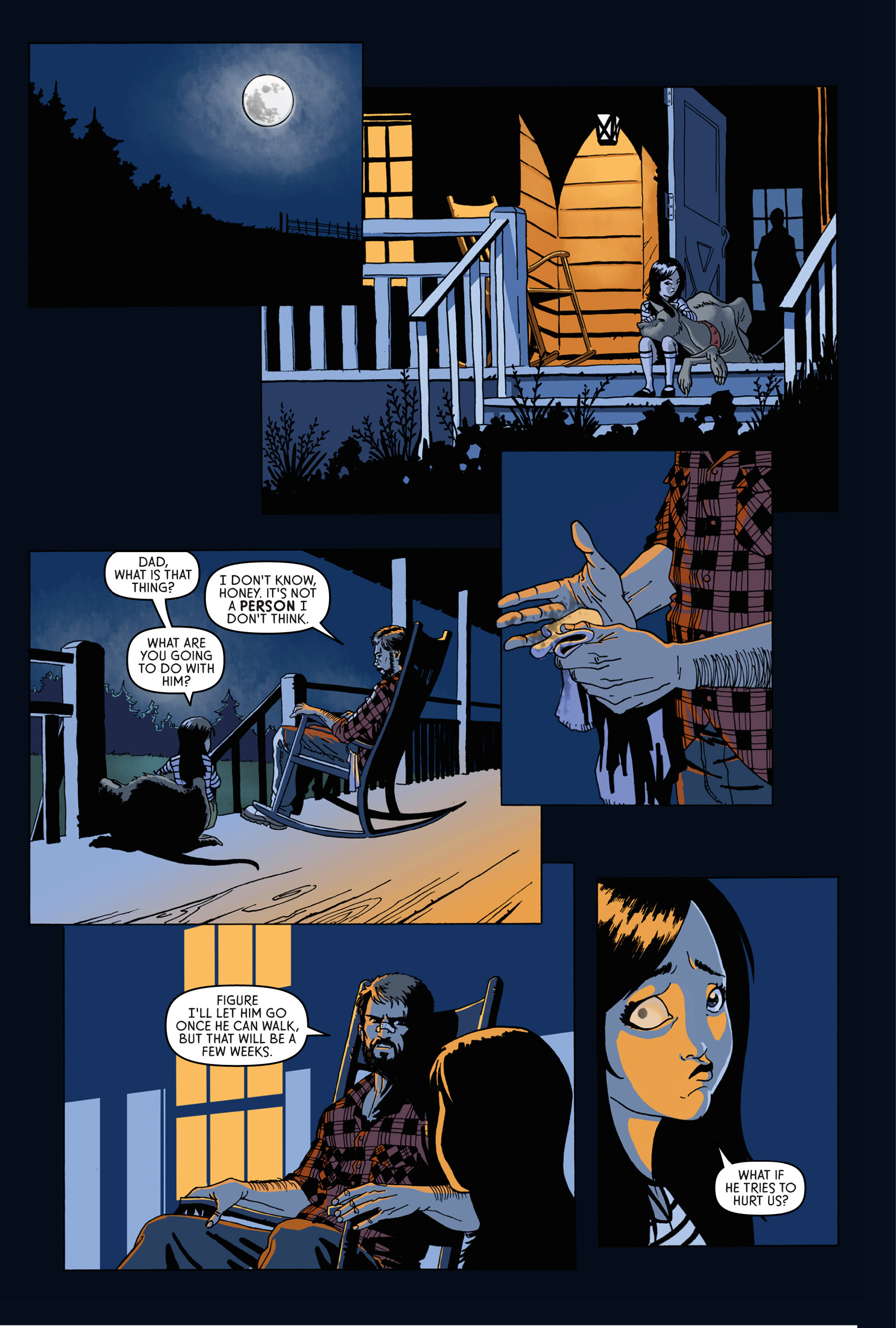 Read online Trespasser comic -  Issue #1 - 12