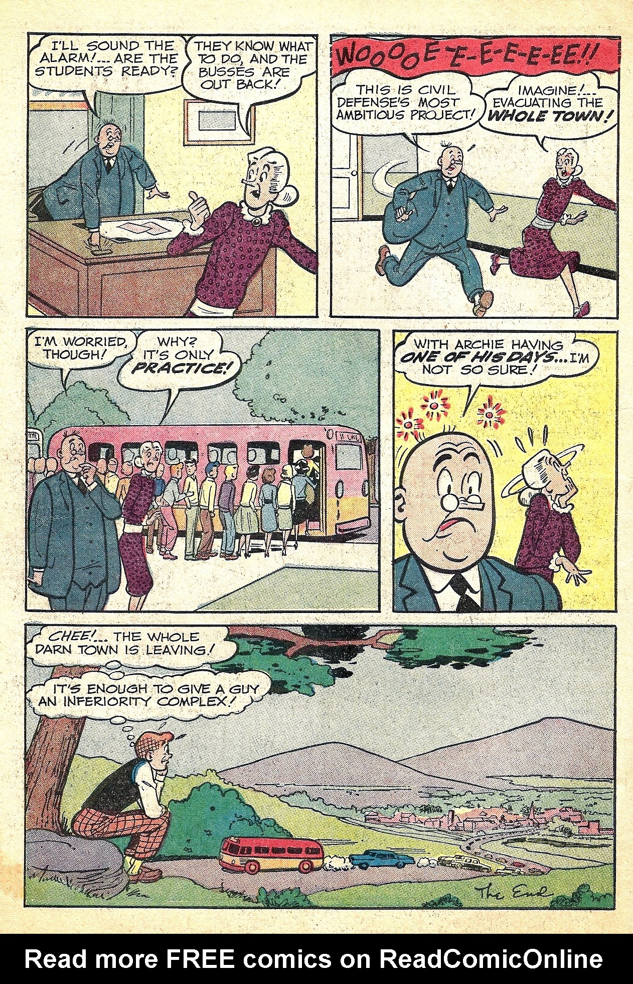 Read online Archie (1960) comic -  Issue #127 - 34