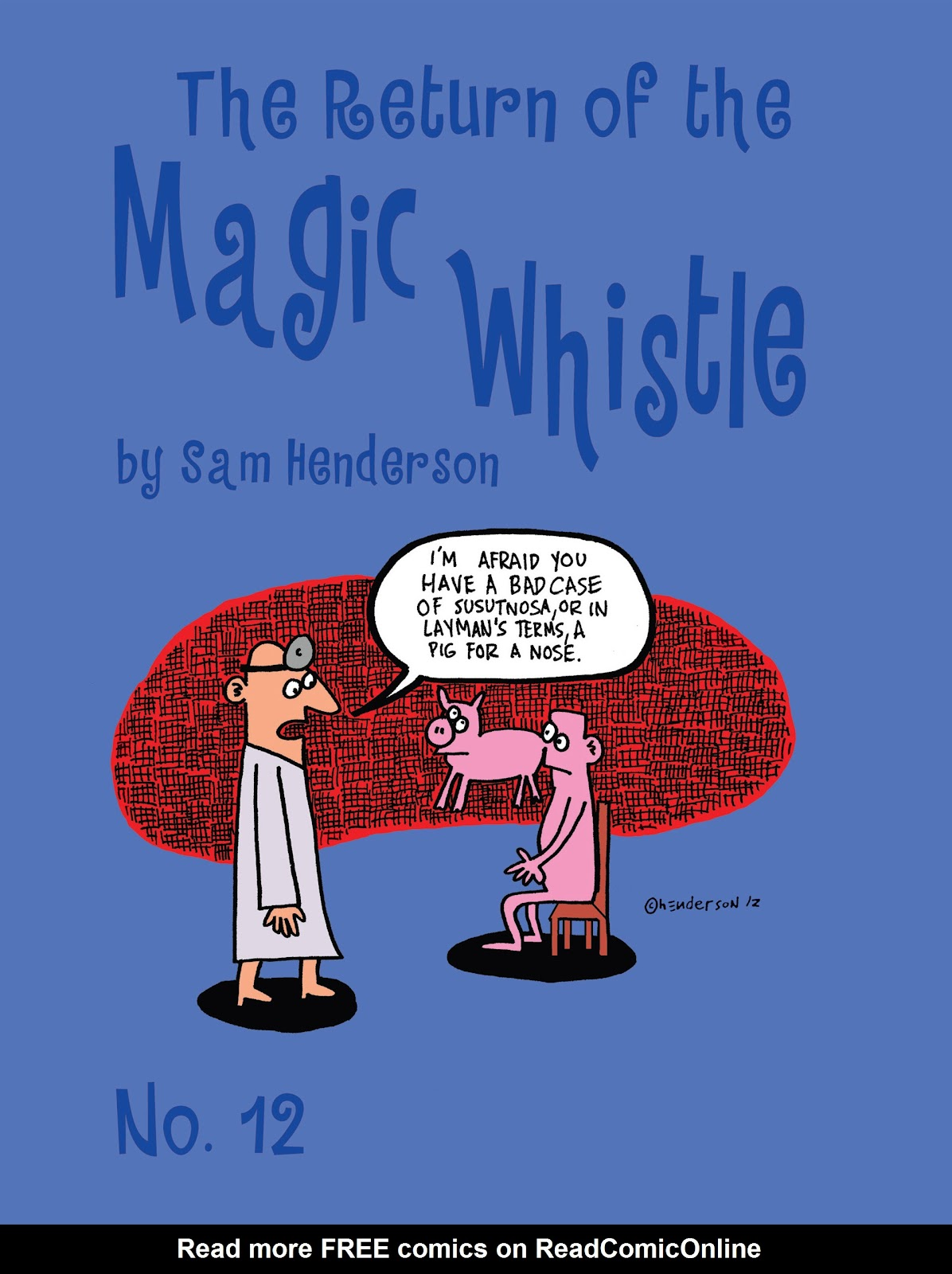 Read online Magic Whistle comic -  Issue #12 - 1