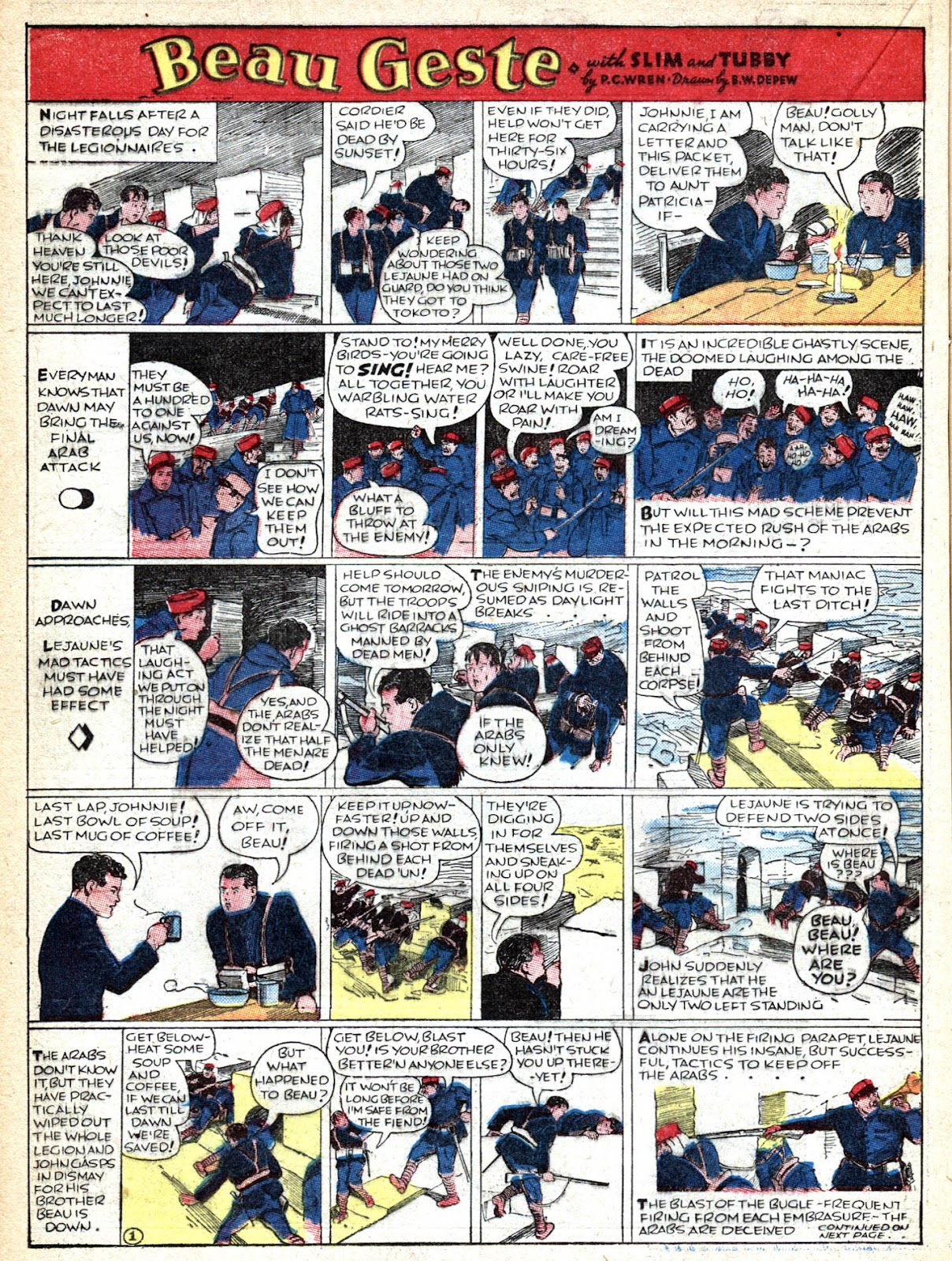 Read online Famous Funnies comic -  Issue #36 - 26