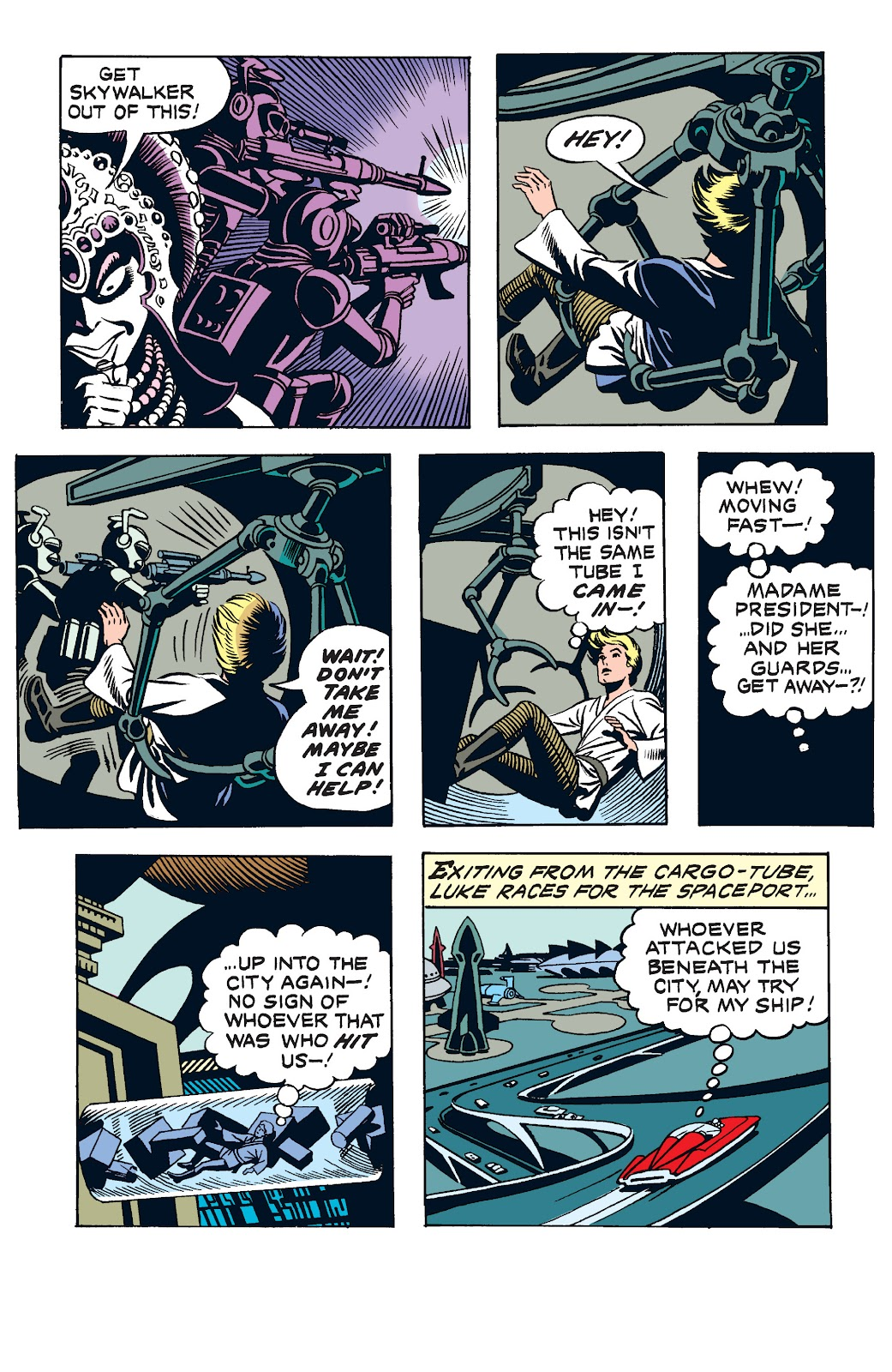 Read online Star Wars Legends: The Newspaper Strips - Epic Collection comic -  Issue # TPB (Part 2) - 5