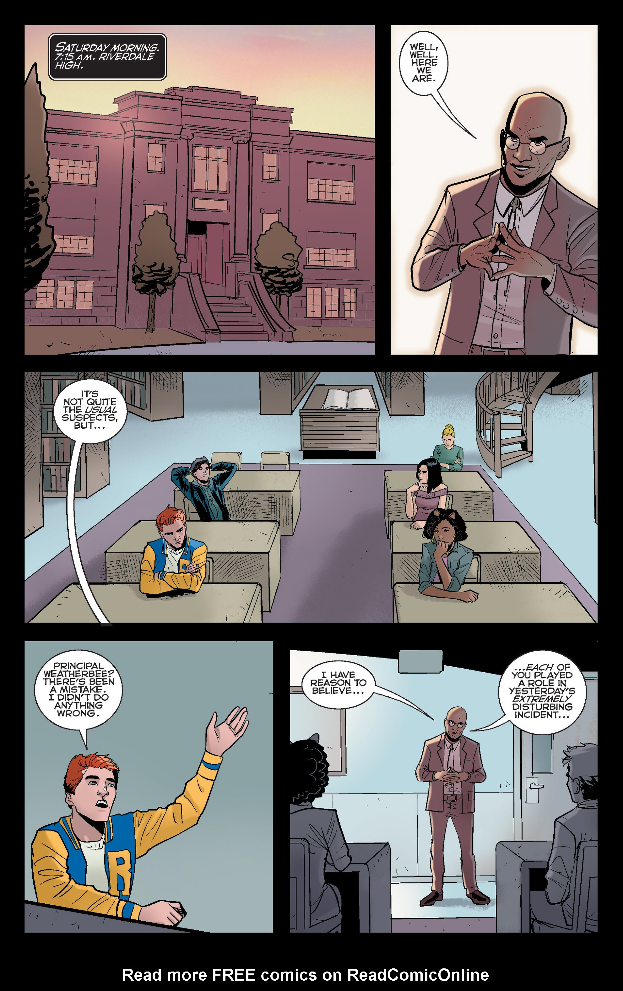 Read online Riverdale comic -  Issue #2 - 3