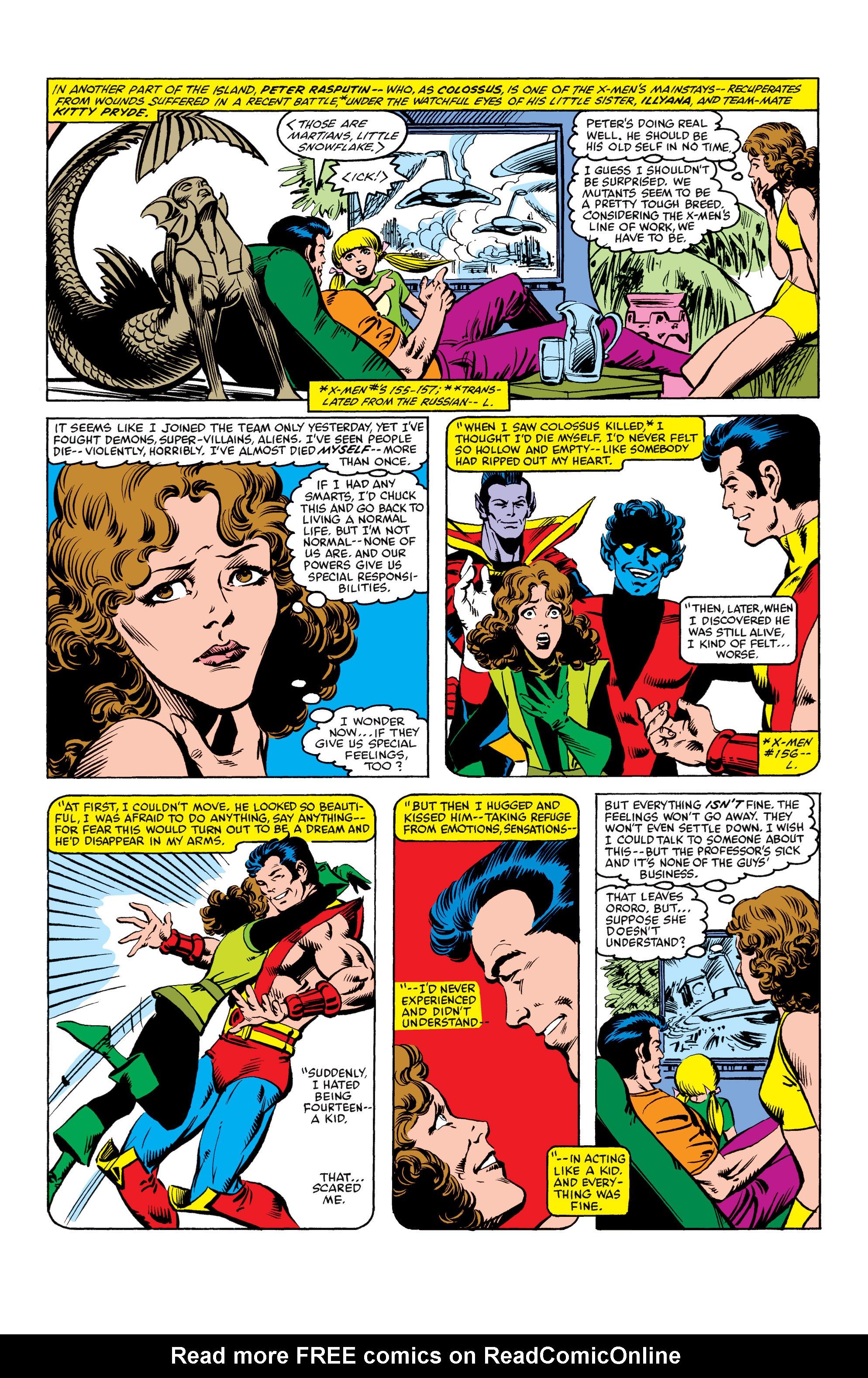 Read online Uncanny X-Men (1963) comic -  Issue #158 - 4