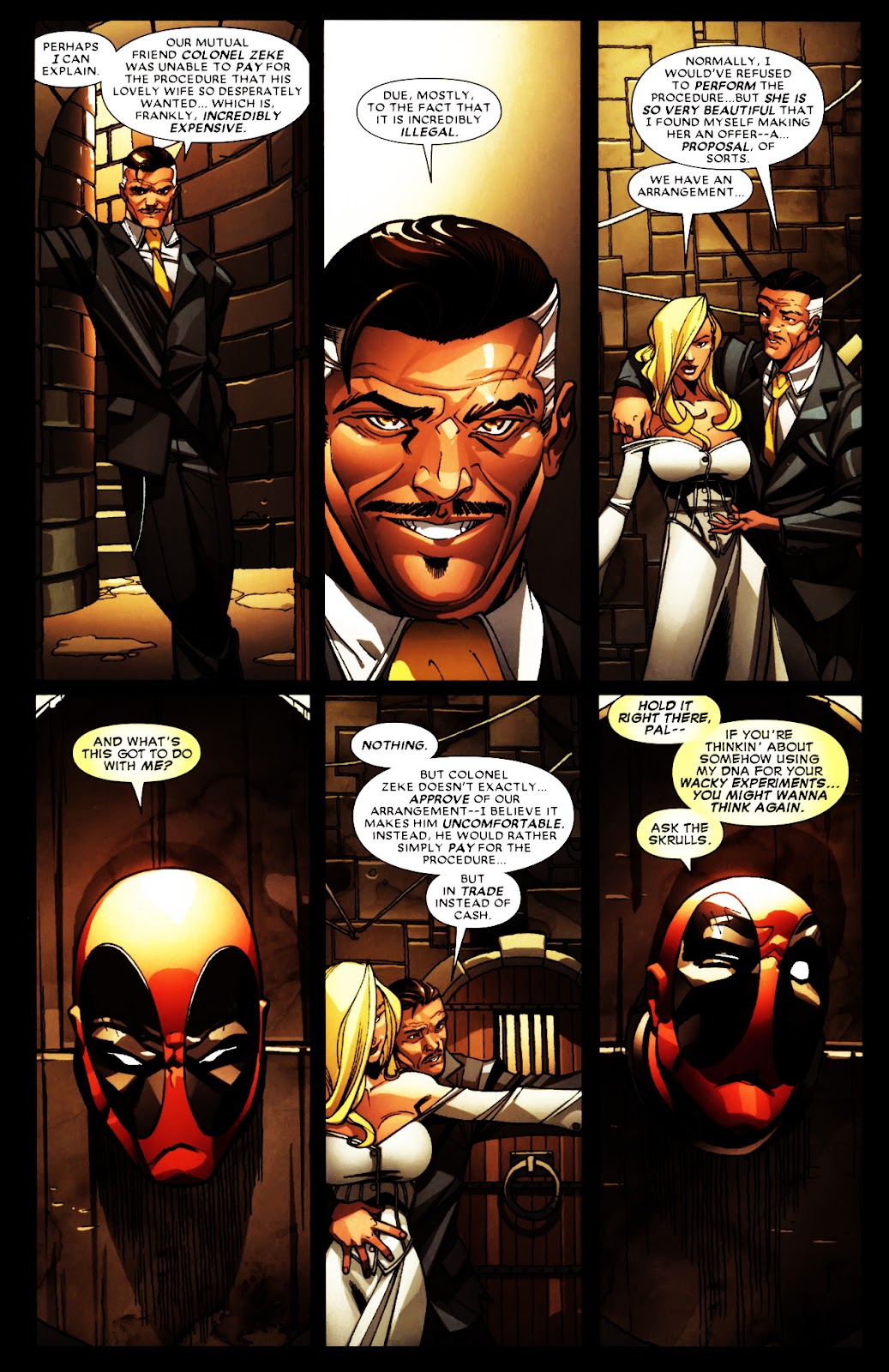 Read online Deadpool (2008) comic -  Issue #5 - 5