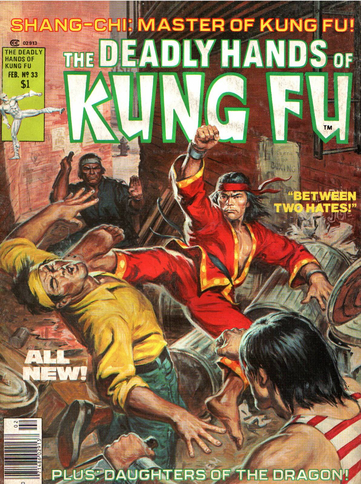The Deadly Hands of Kung Fu issue 33 - Page 1