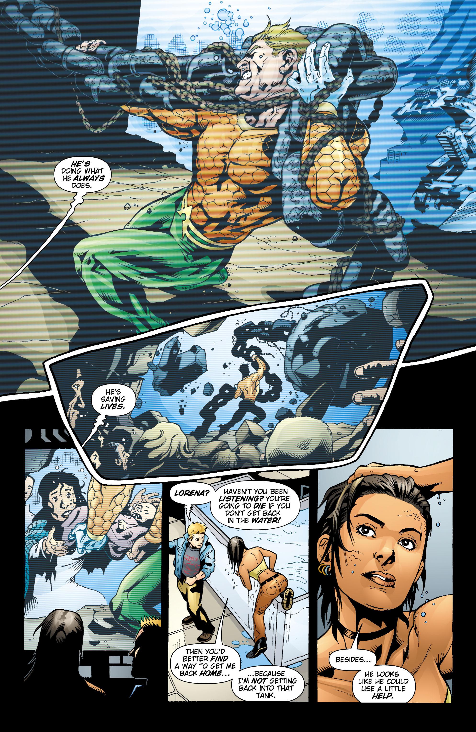 Read online Aquaman (2003) comic -  Issue #17 - 14