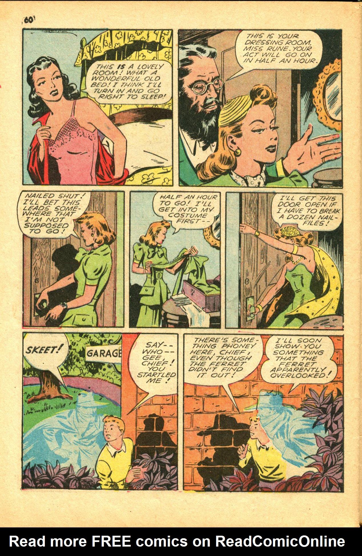 Read online Shadow Comics comic -  Issue #30 - 60