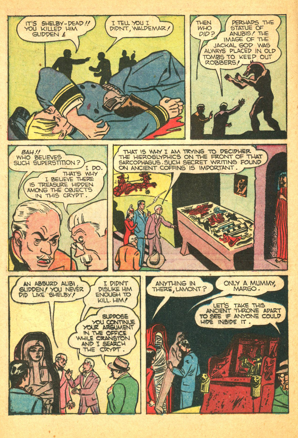 Read online Shadow Comics comic -  Issue #38 - 20