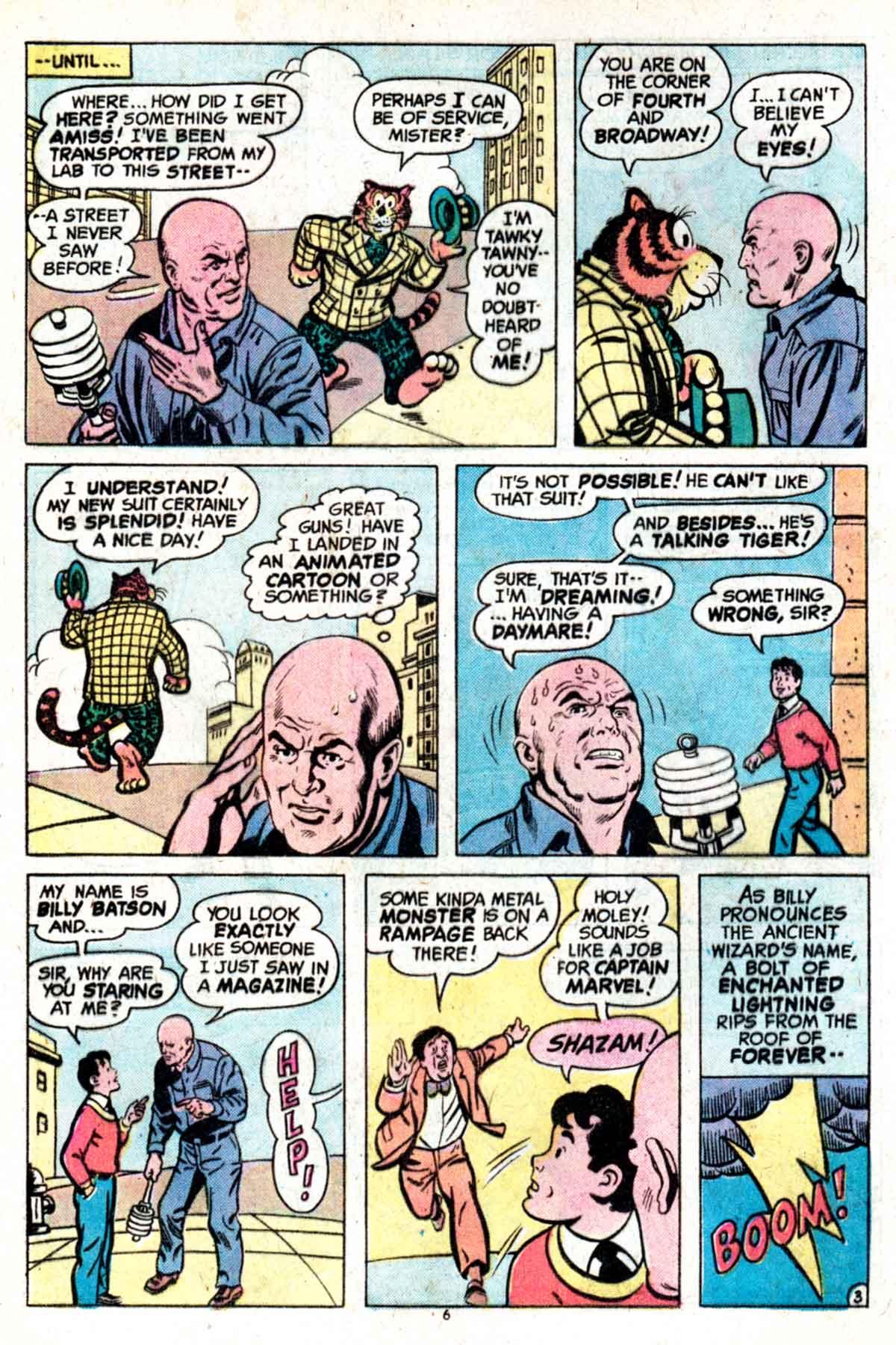 Read online Shazam! (1973) comic -  Issue #15 - 6