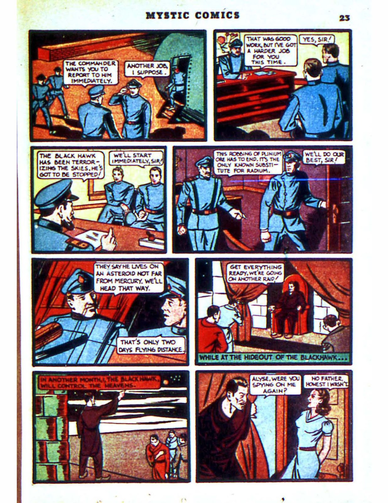 Mystic Comics (1940) issue 2 - Page 25