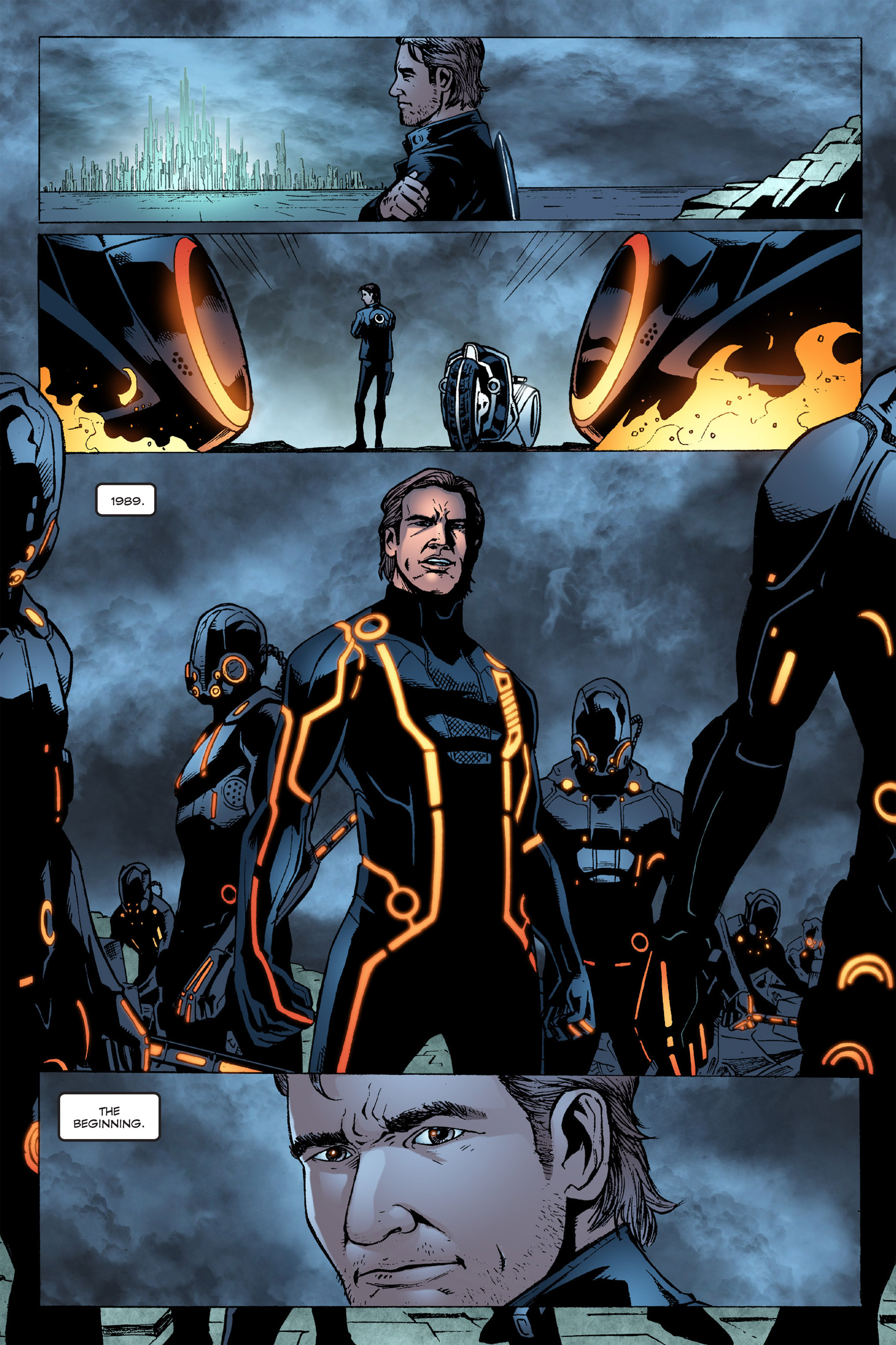 Read online TRON: Betrayal comic -  Issue # TPB - 109