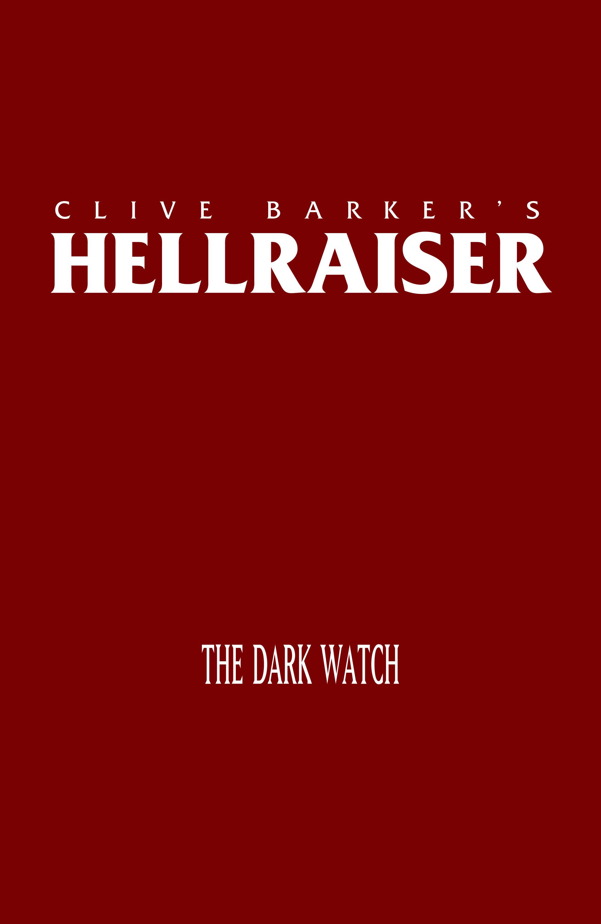 Read online Clive Barker's Hellraiser: The Dark Watch comic -  Issue # TPB 3 - 3