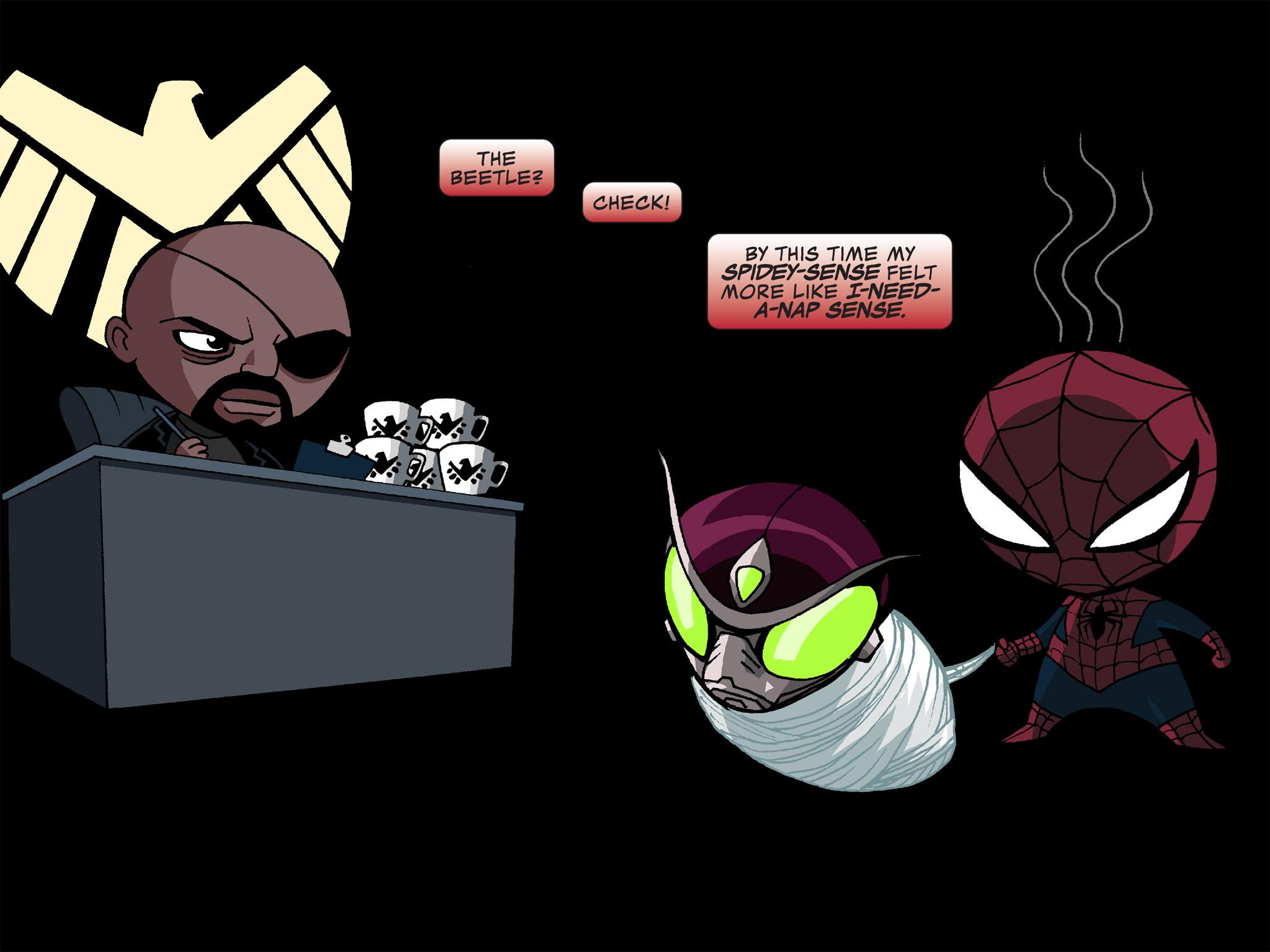 Read online Ultimate Spider-Man (Infinite Comics) (2015) comic -  Issue #12 - 18