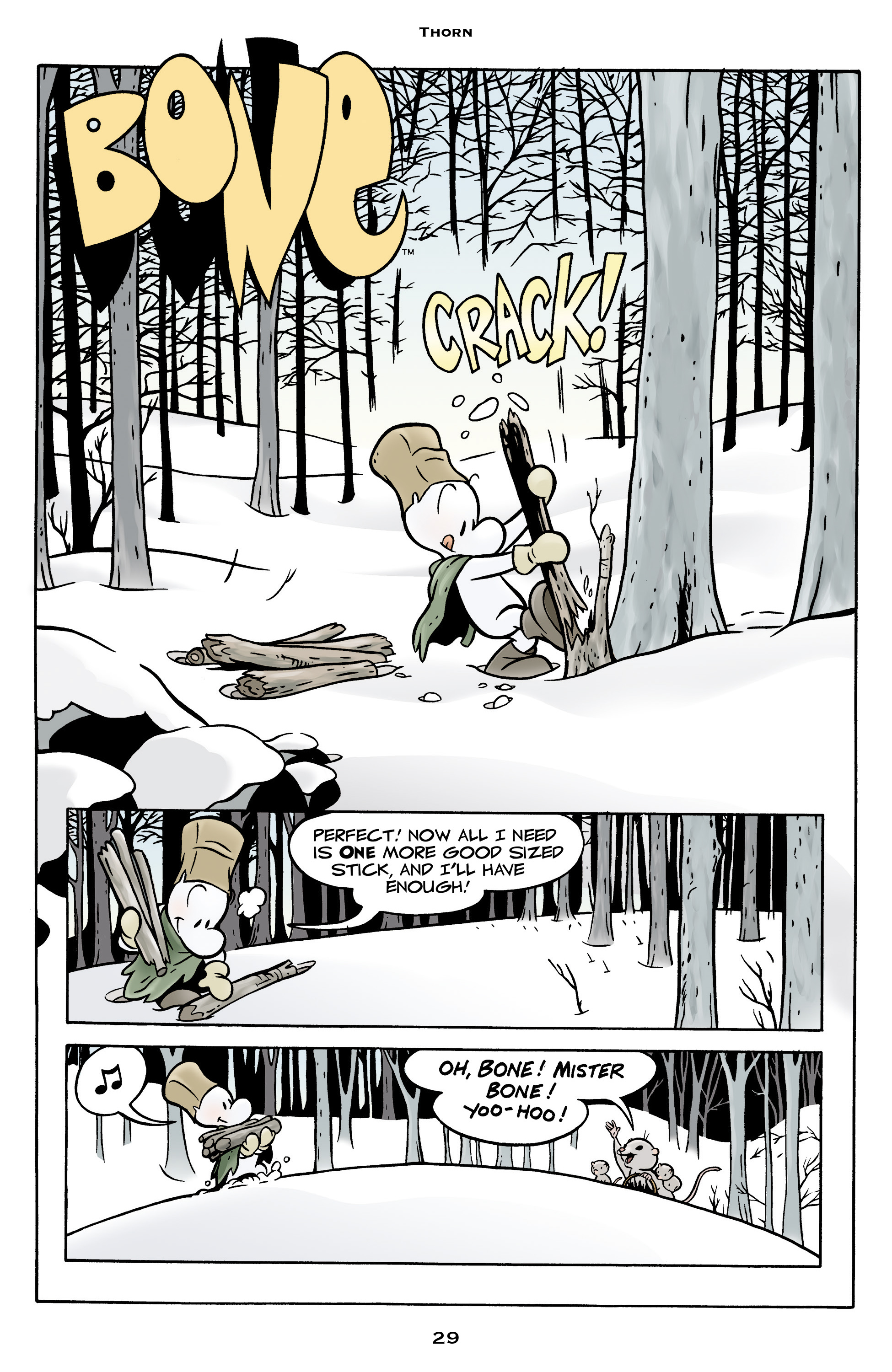 Read online Bone: Out From Boneville comic -  Issue # TPB - 29