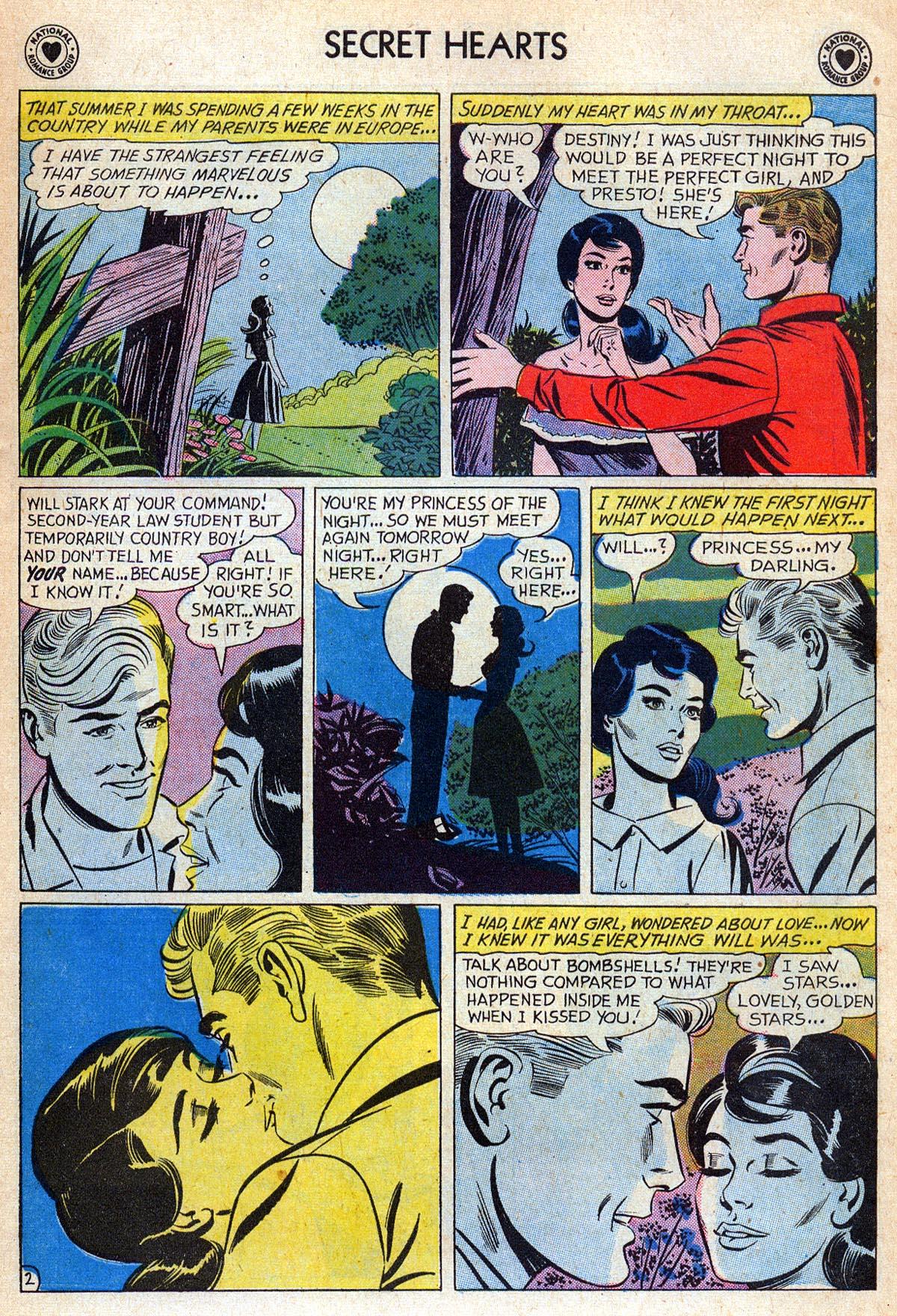 Read online Secret Hearts comic -  Issue #76 - 19