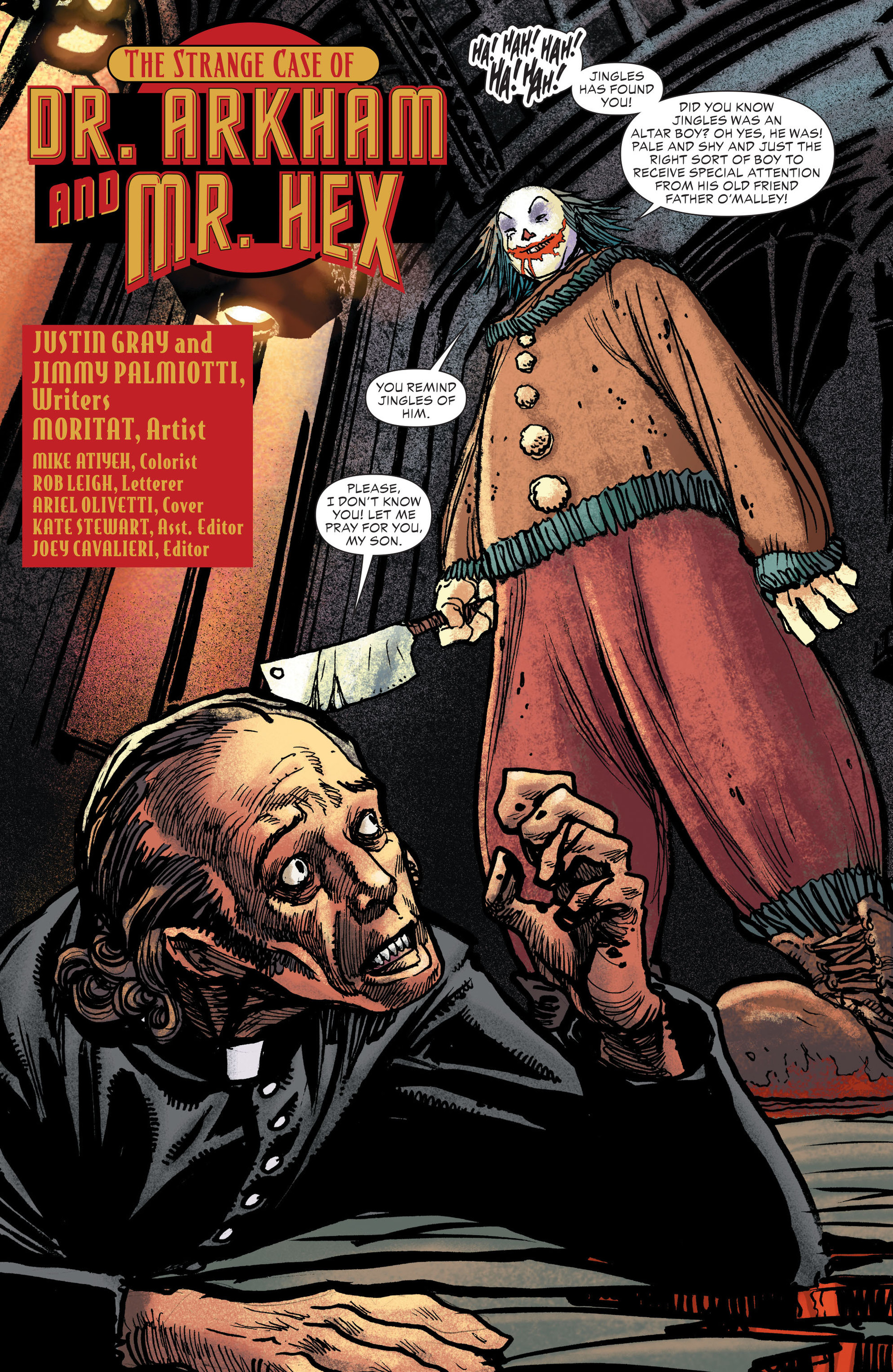 Read online All-Star Western (2011) comic -  Issue #13 - 3