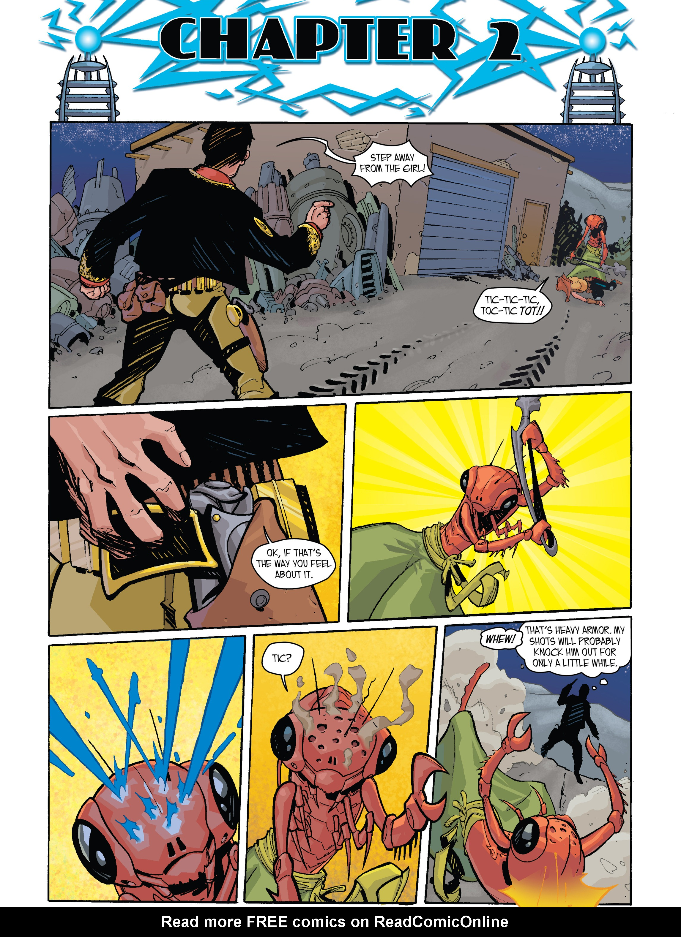 Read online Amber Atoms comic -  Issue #2 - 2