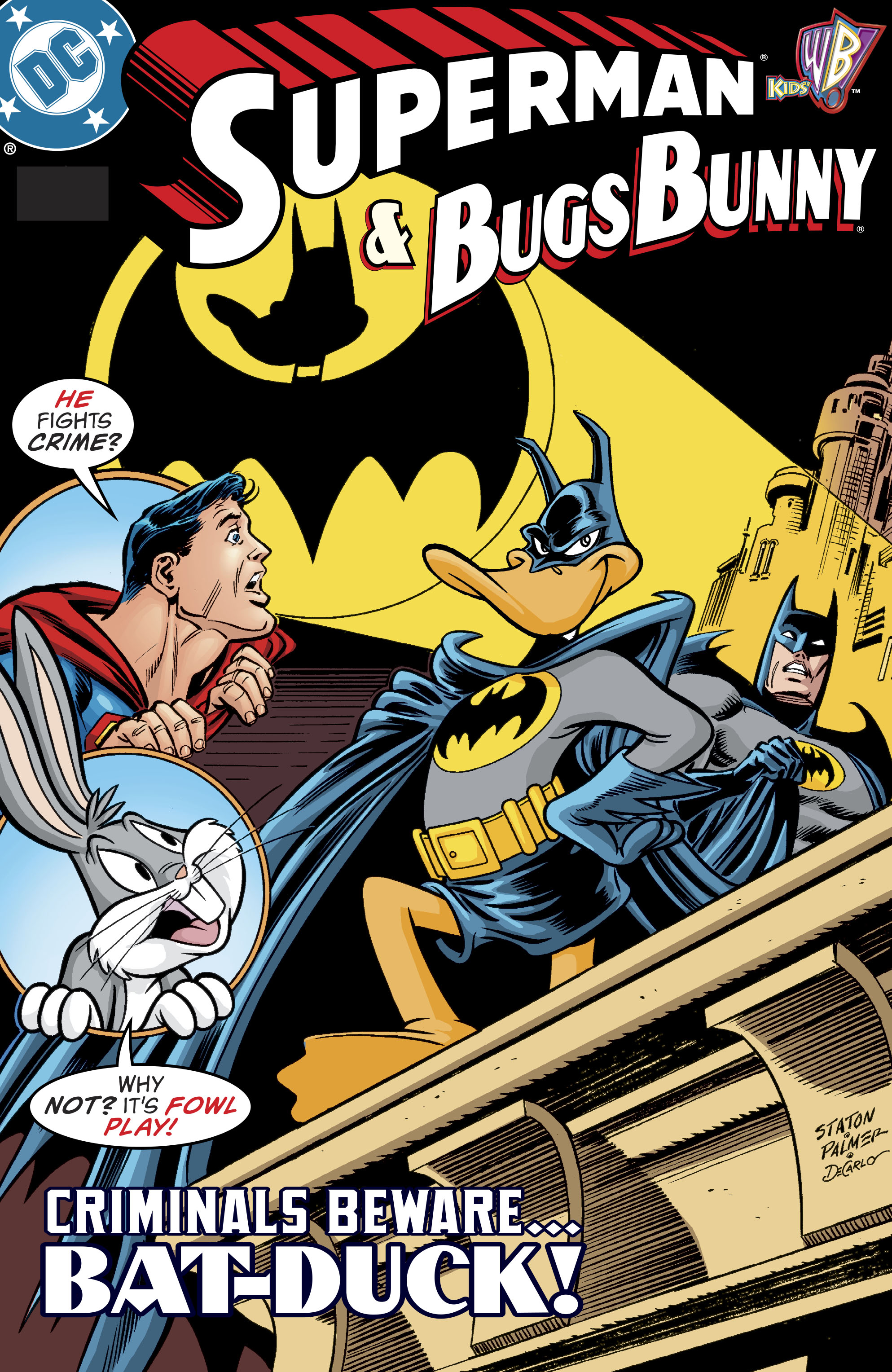 Read online DC/Looney Tunes 100-Page Super Spectacular comic -  Issue # Full - 72