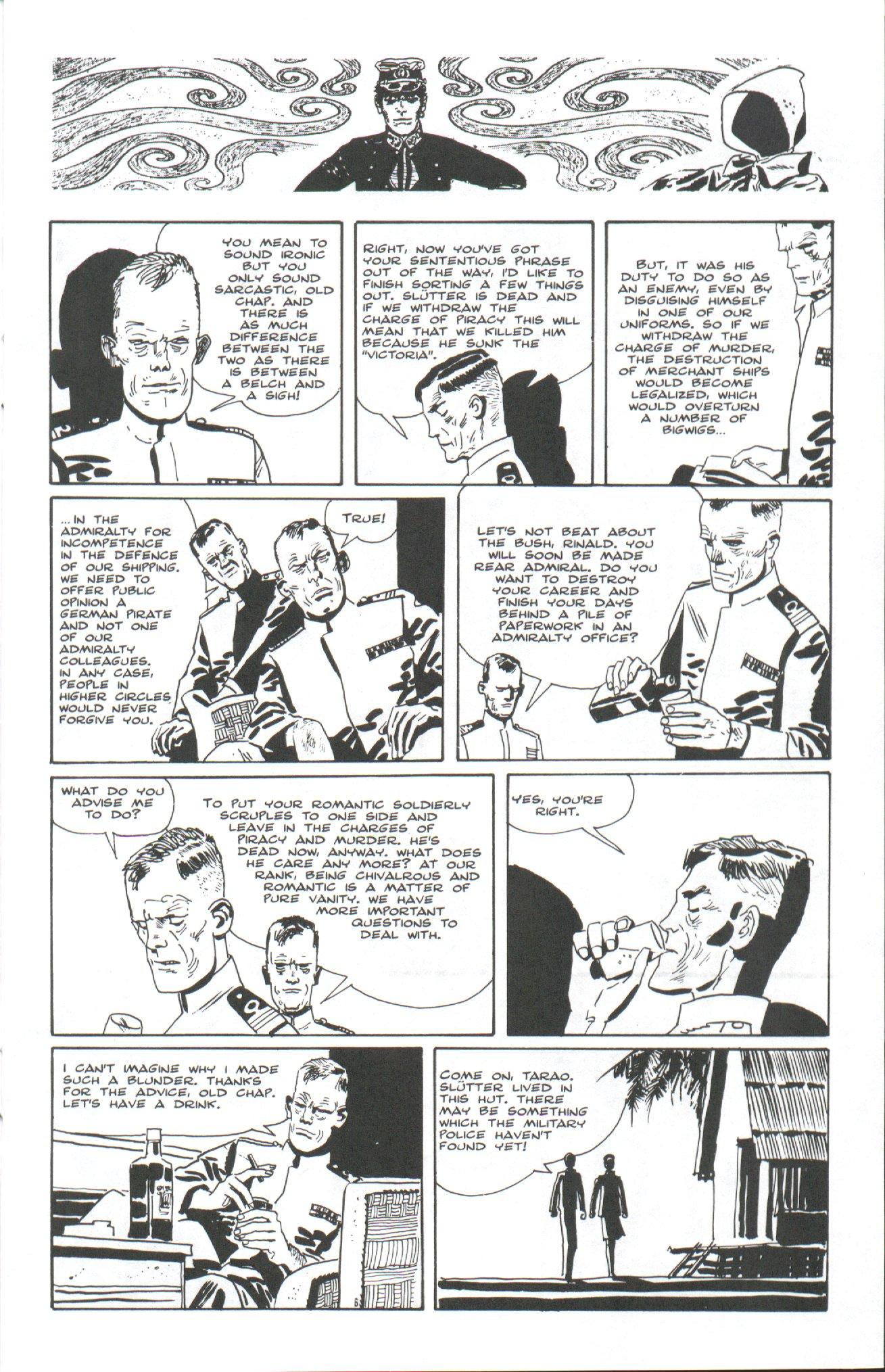 Read online Corto Maltese: Ballad of the Salt Sea comic -  Issue #7 - 13
