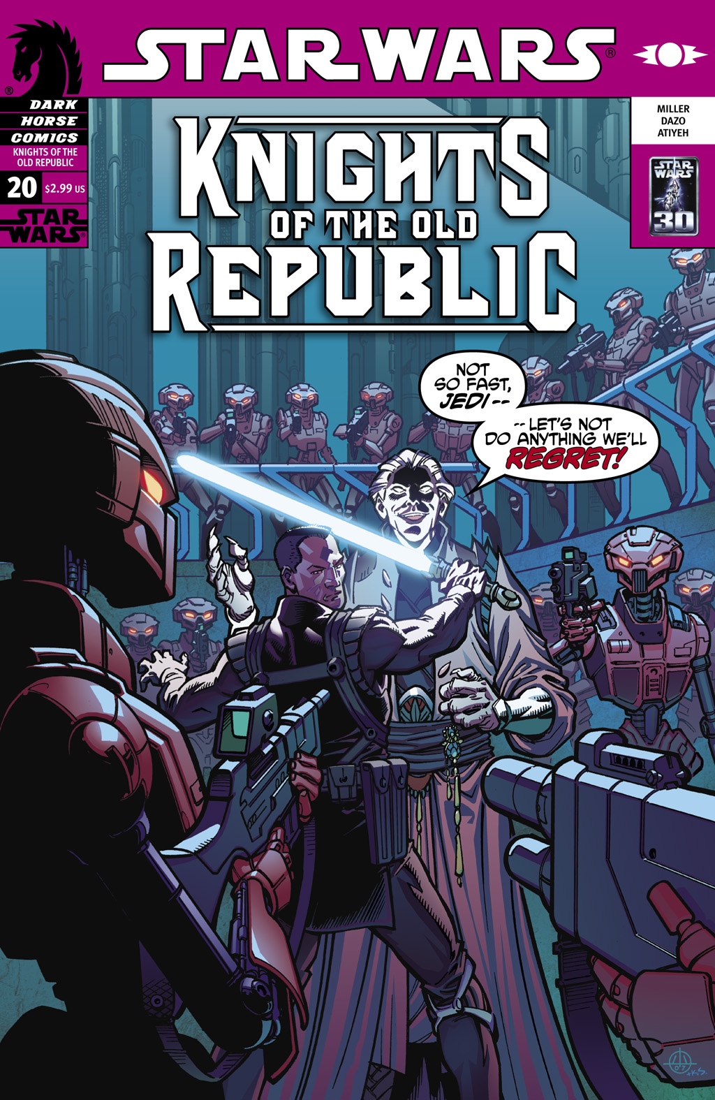 Star Wars: Knights Of The Old Republic issue 20 - Page 1