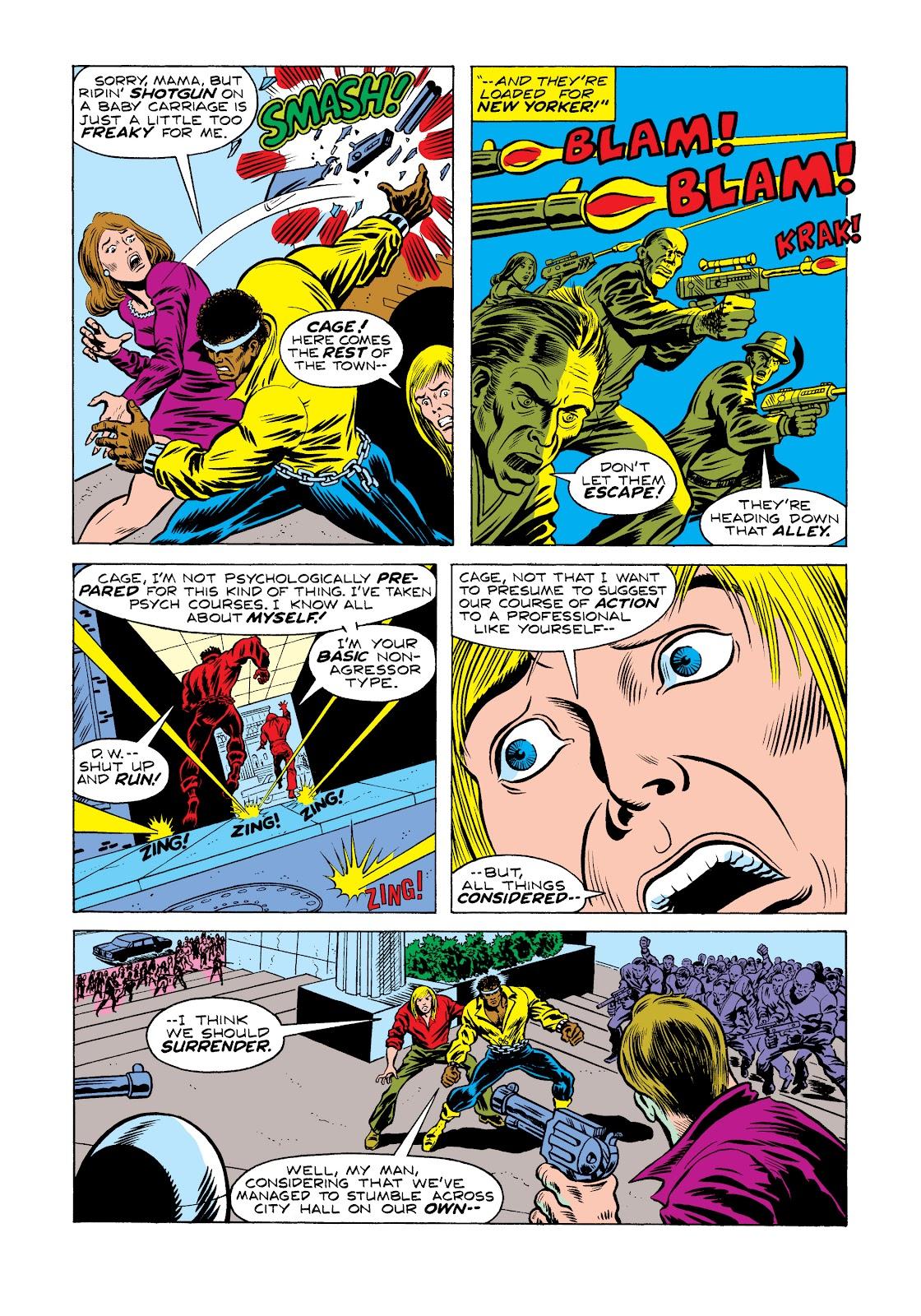 Read online Marvel Masterworks: Luke Cage, Power Man comic -  Issue # TPB 2 (Part 2) - 35