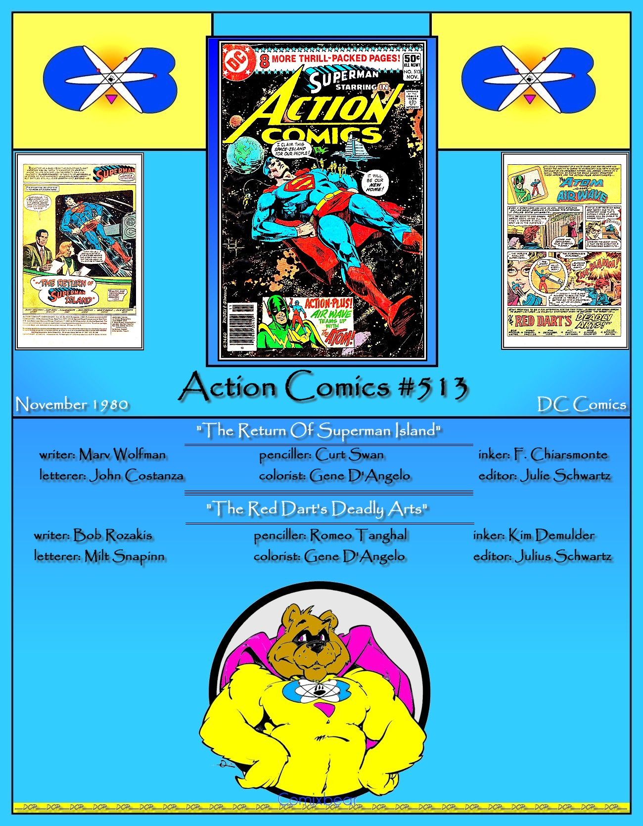 Read online Action Comics (1938) comic -  Issue #513 - 36