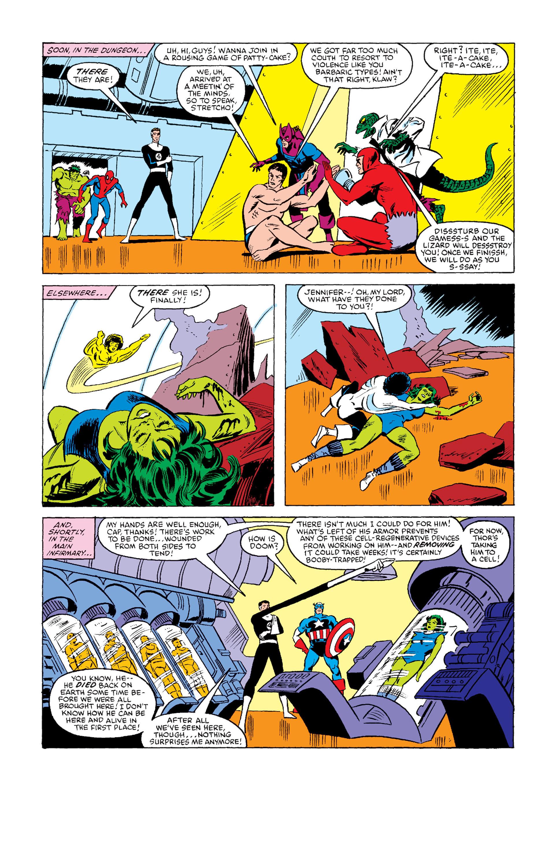 Read online Secret Wars (1985) comic -  Issue #8 - 20