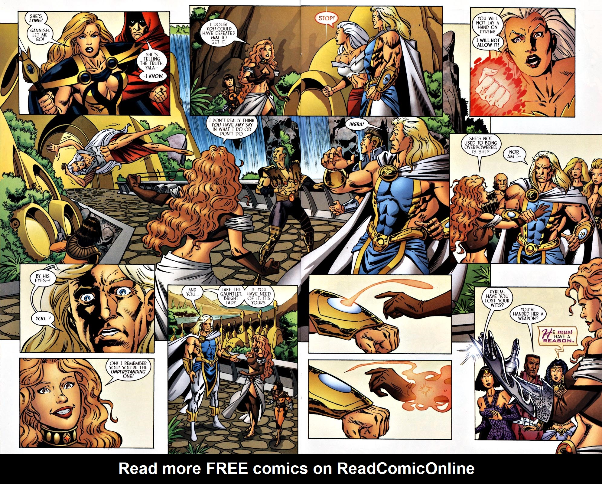 Read online Solus comic -  Issue #5 - 10