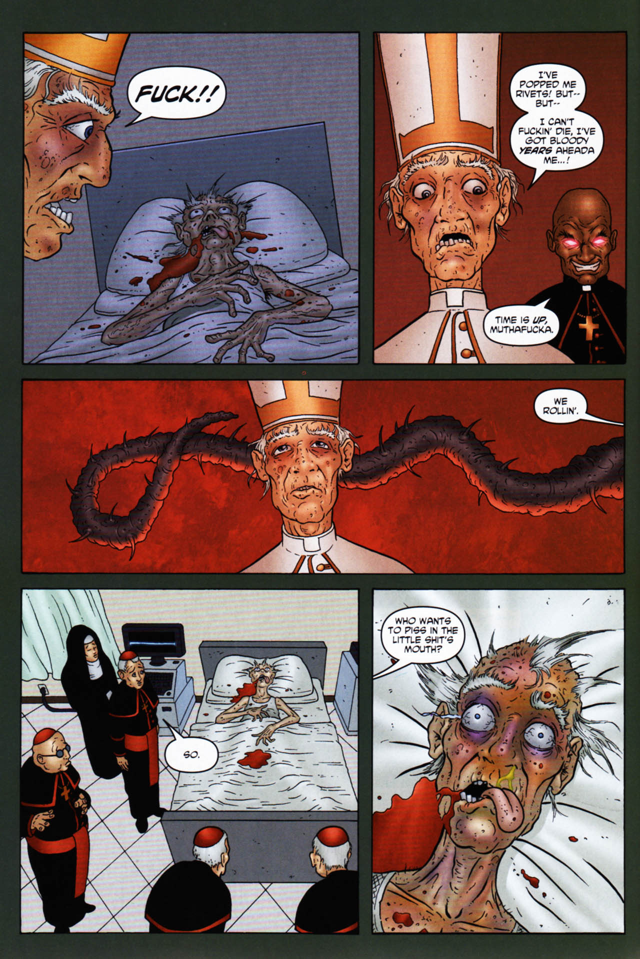 Read online Chronicles of Wormwood: The Last Enemy comic -  Issue # Full - 40
