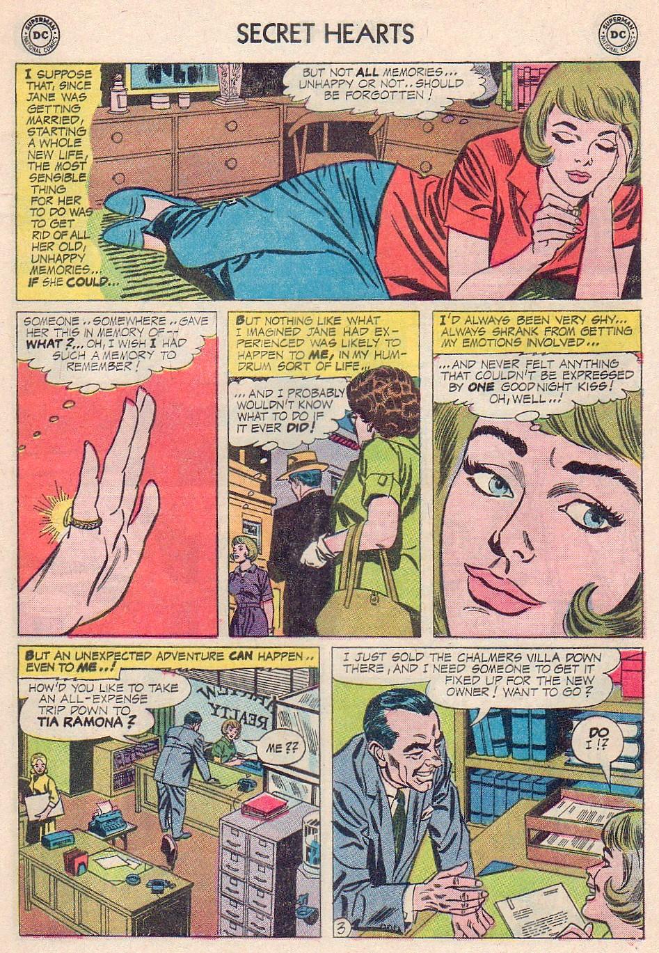 Read online Secret Hearts comic -  Issue #102 - 5