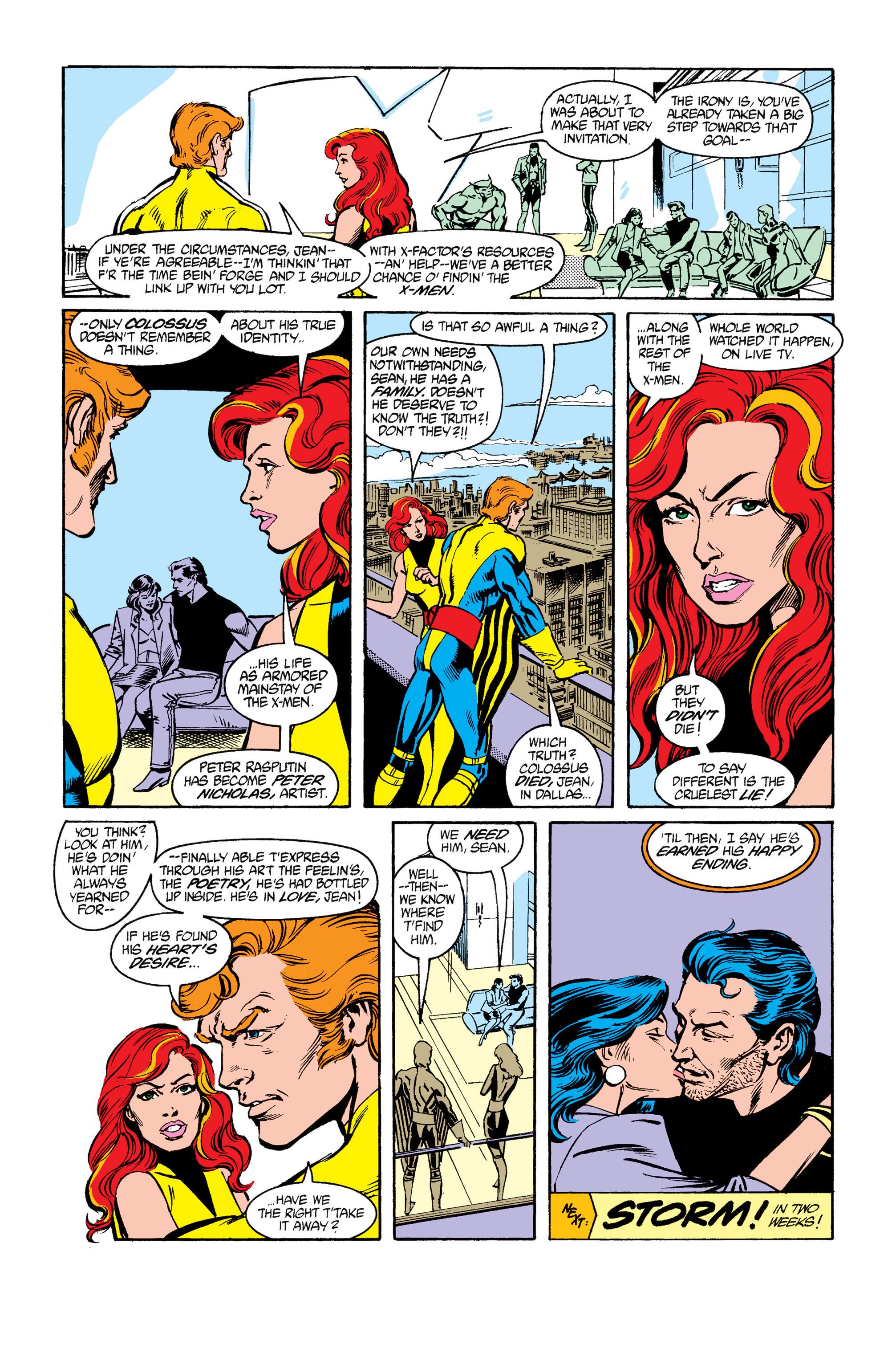 Read online Uncanny X-Men (1963) comic -  Issue #264 - 25