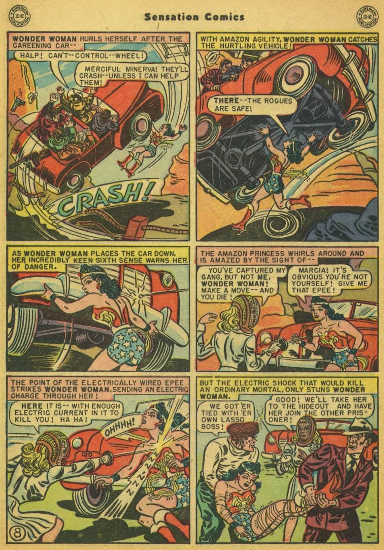 Read online Sensation (Mystery) Comics comic -  Issue #80 - 9