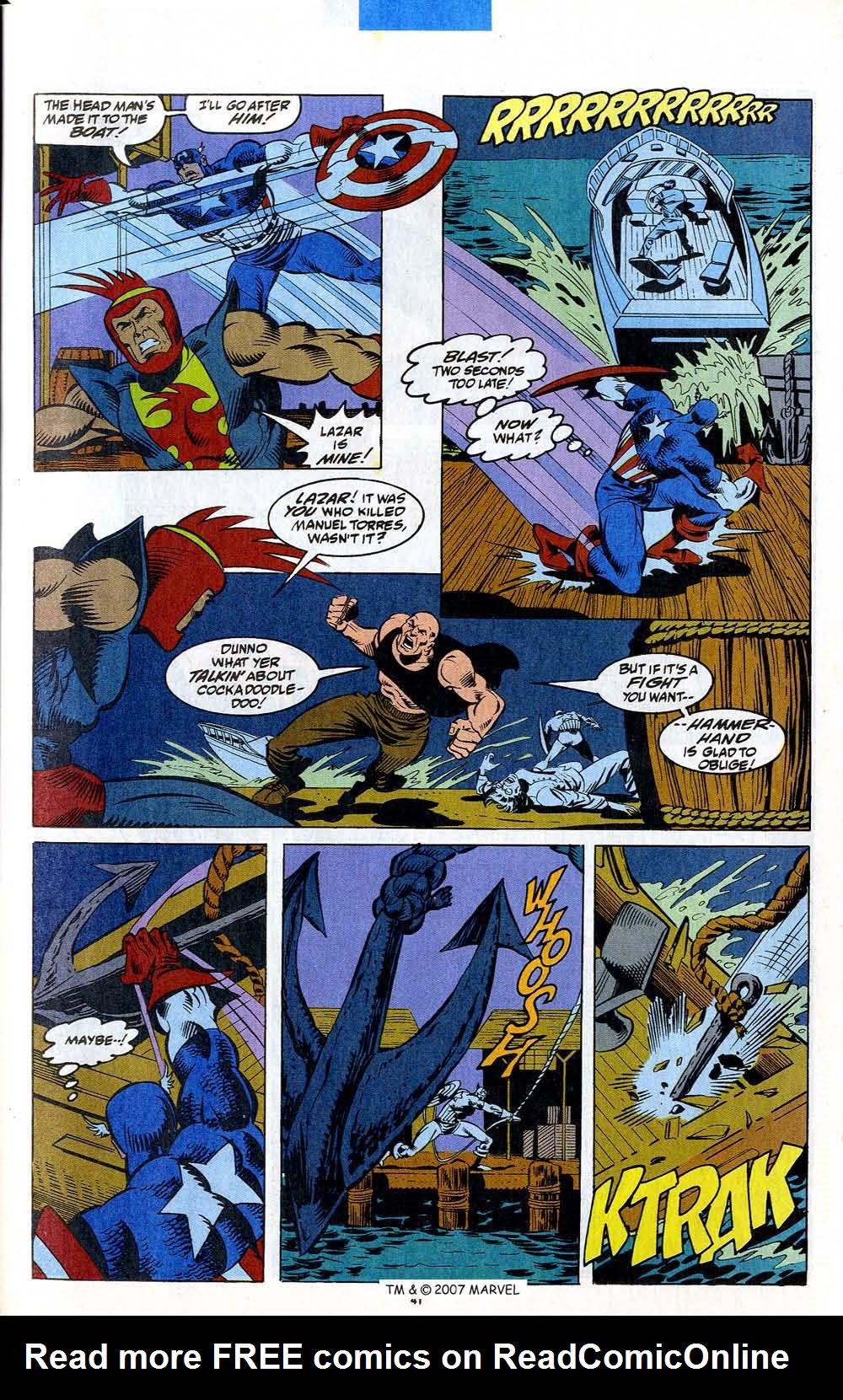 Read online Captain America (1968) comic -  Issue # _Annual 12 - 43